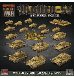 Battlefront Miniatures Flames of War German Starter Force: Waffen-SS Panther Kampfgruppe