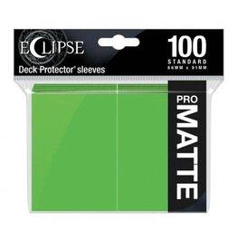 Ultra Pro Eclipse Matte Standard Sleeves: Lime Green (100)