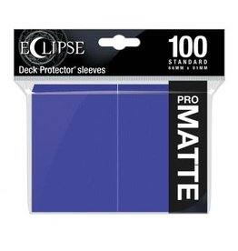 Ultra Pro Eclipse Matte Standard Sleeves: Royal Purple (100)