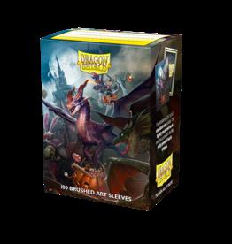 Arcane Tinmen Dragon Shield Halloween 2021 Brushed Art Sleeves (100)