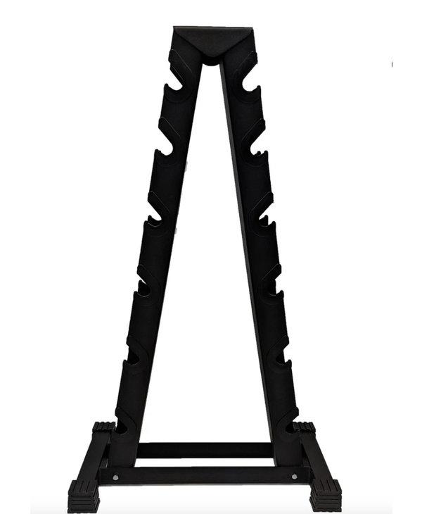 York Vertical Dumbbell Rack, holds 6 pairs