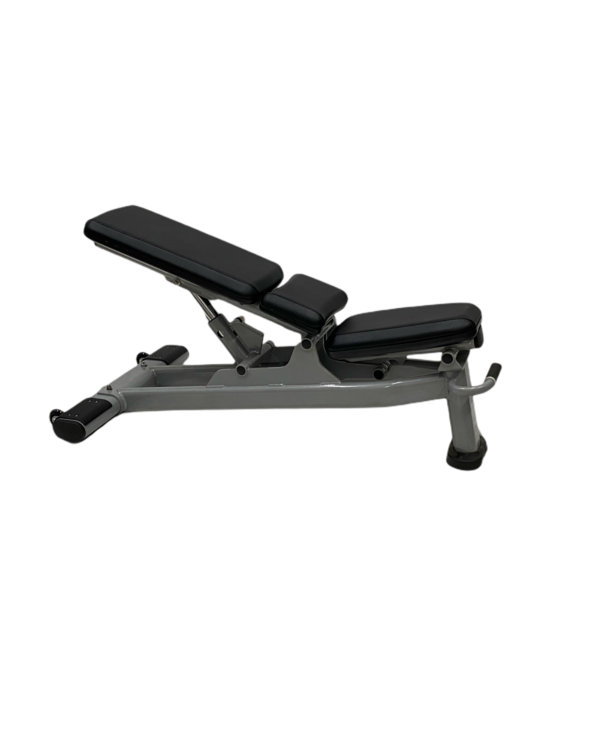 GC-Fit Commercial Multi-Adjustable Bench, Black Upholstery