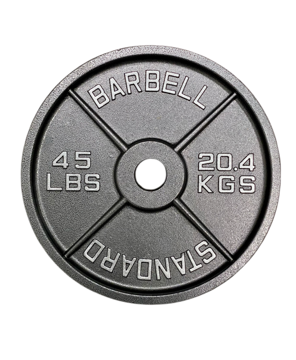 GC Standard Cast Iron Olympic Plate, Pair
