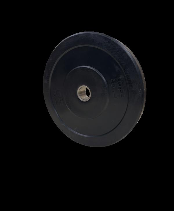 GC Training Black Bumper Weight Plate