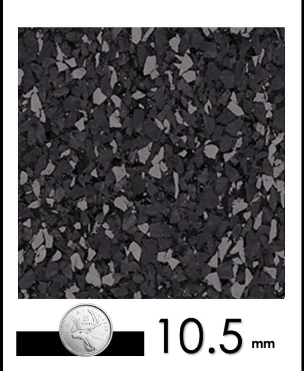 Ecore Performance Beast Interlocking Dark Grey, 10.5mm x 23in x 23in
