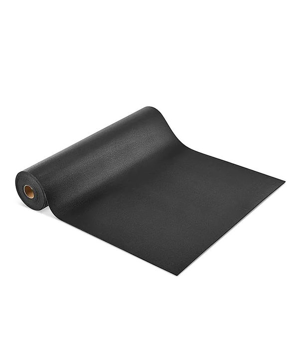 Ecore Basic Fit Black Rolled Rubber, 6mm x 4FT x 25FT