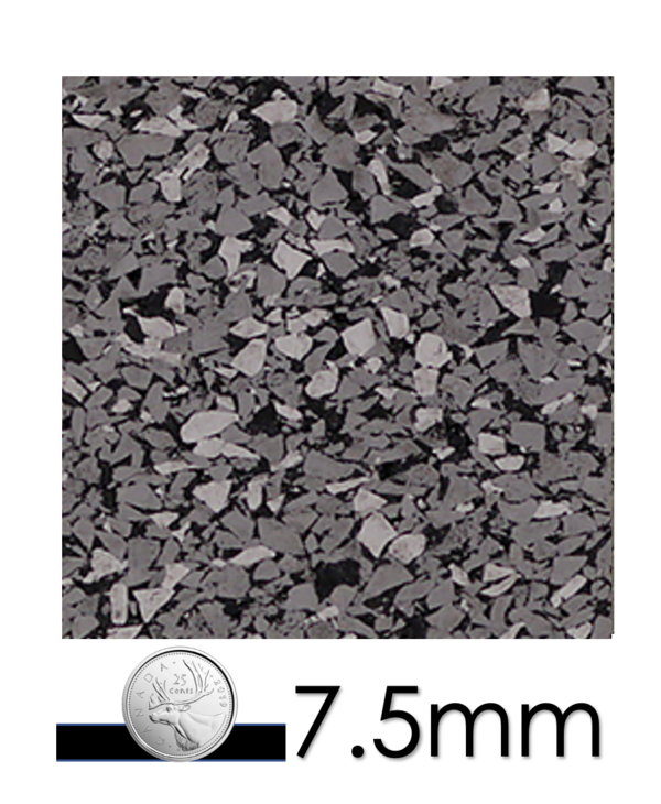 Ecore Performance Motivate Rolled Rubber Steel Appeal,  7.5mm 4' x 50'