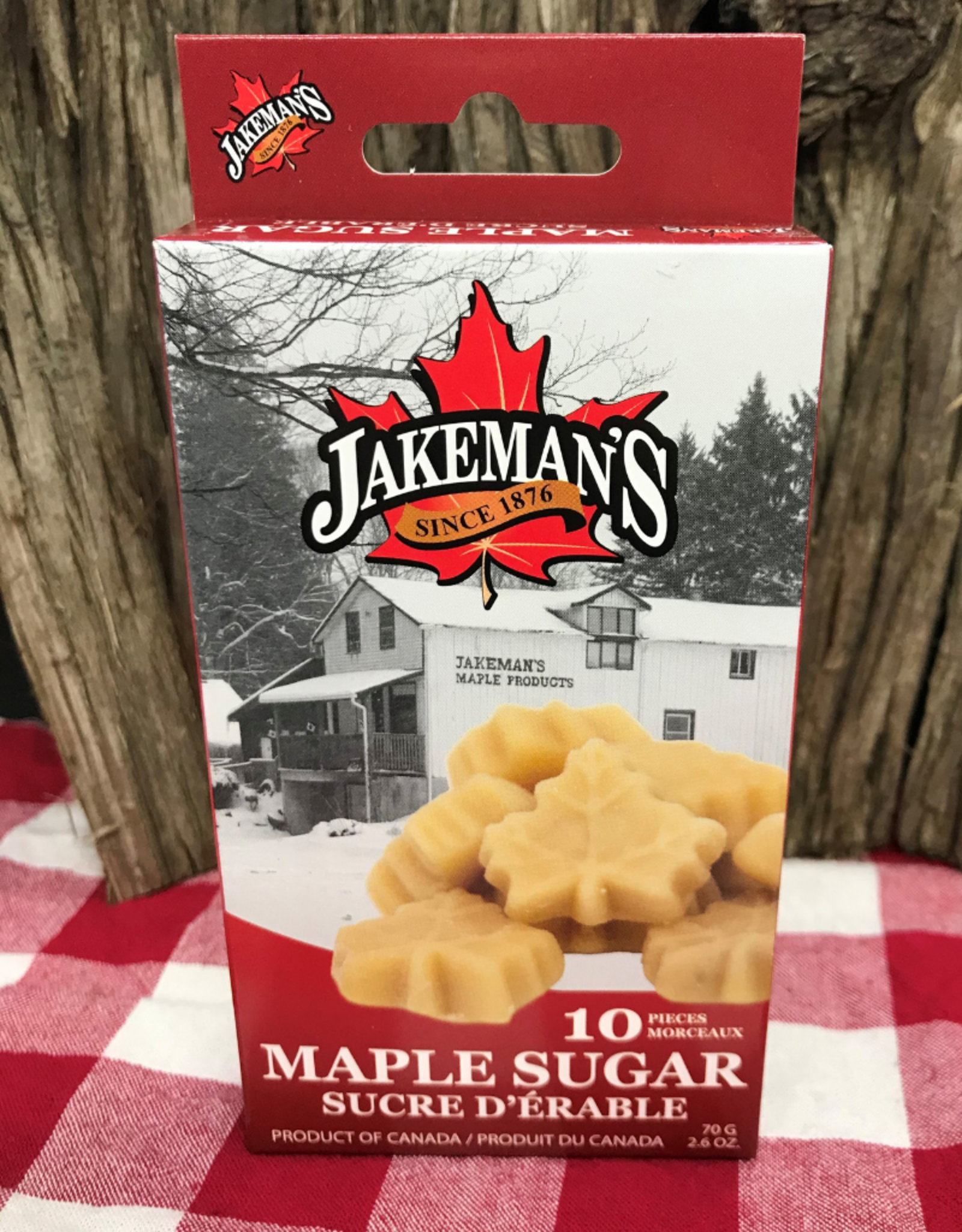Jakemans Maple Sugar Candy