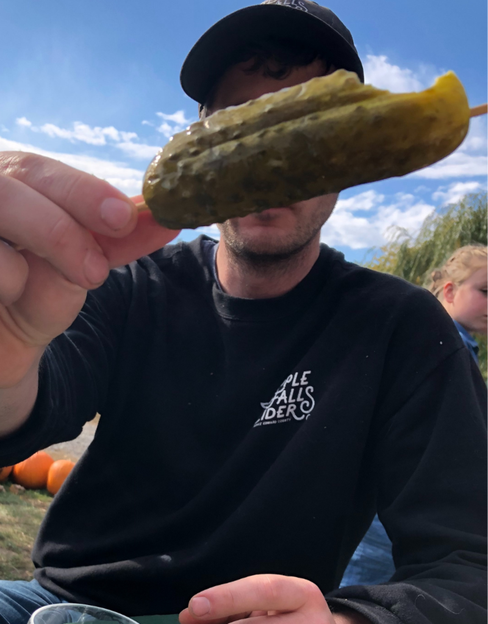 Campbell's Orchards Pickle on a Stick