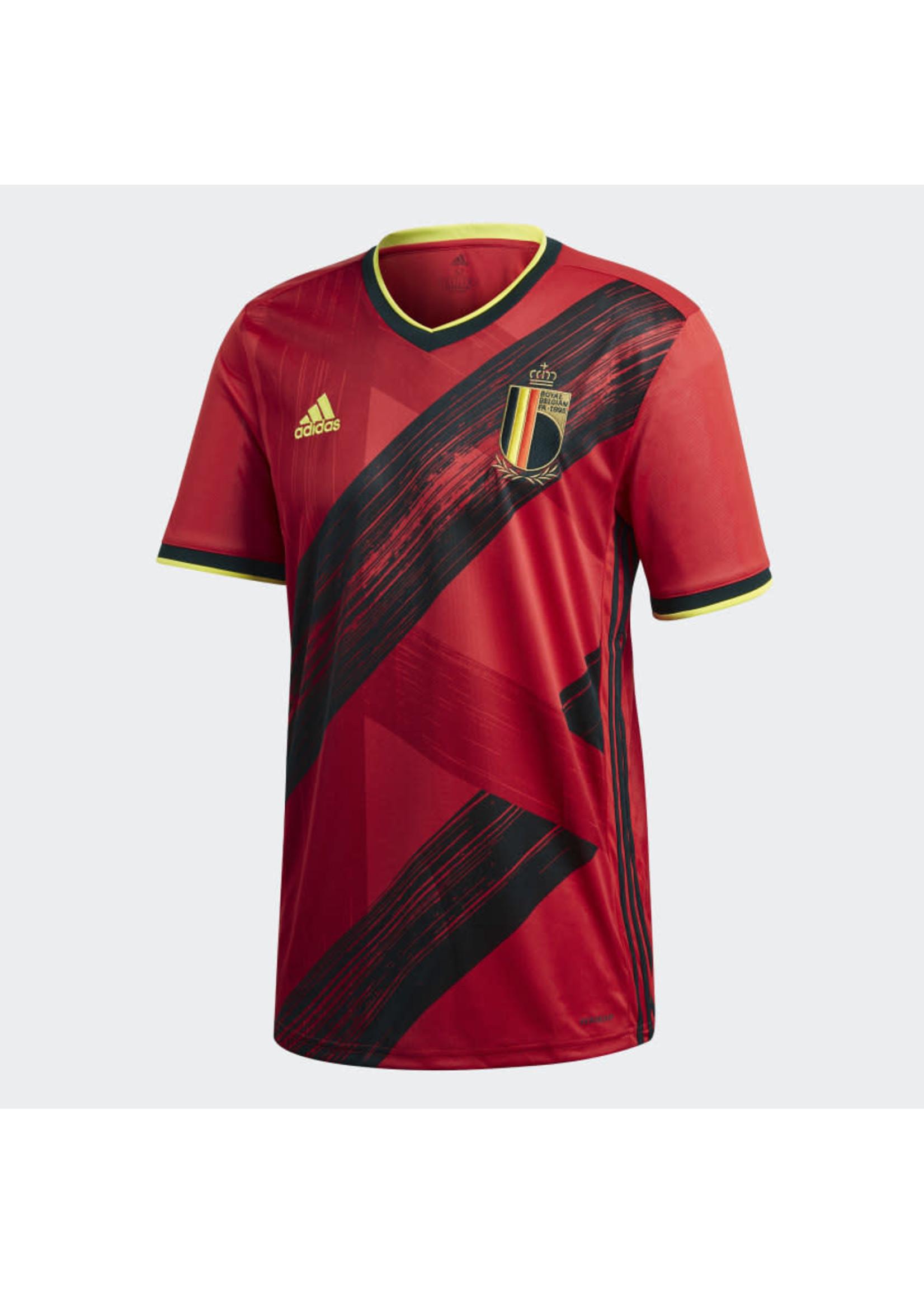 Adidas Belgium 20/21 Home Jersey Adult