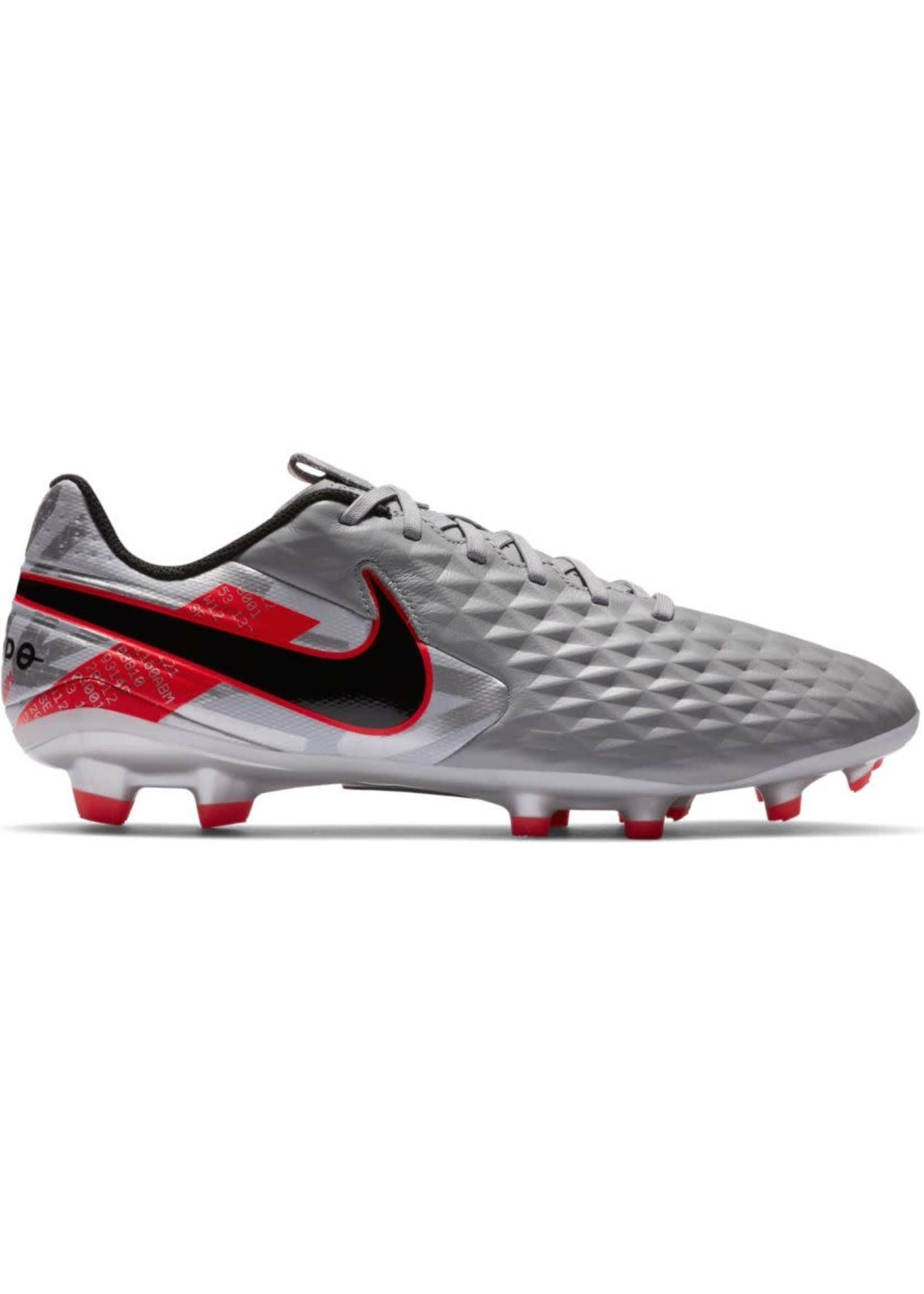 Nike Legend 8 Academy FG/MG - Grey/Red