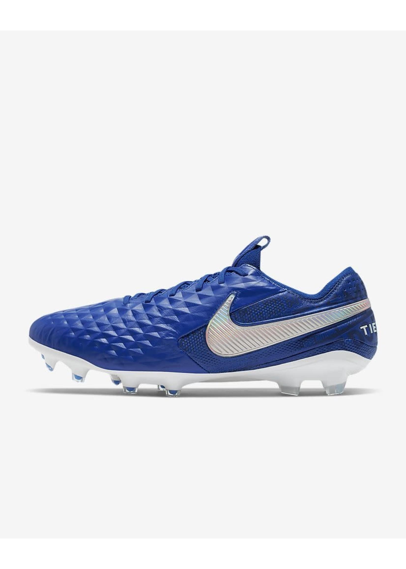 Nike Legend 8 Elite FG - Blue/White