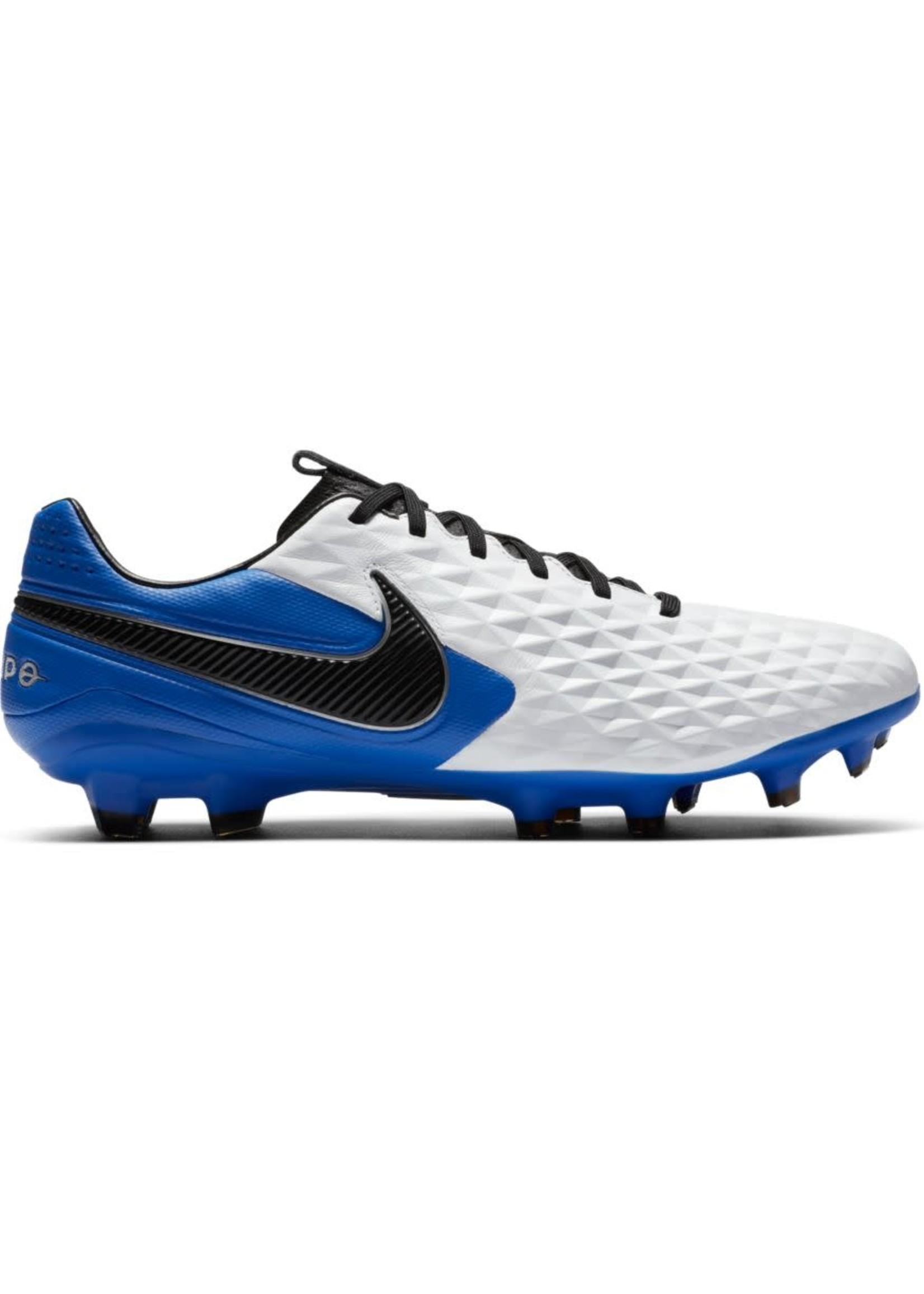 Nike Legend 8 Pro FG - White/Blue
