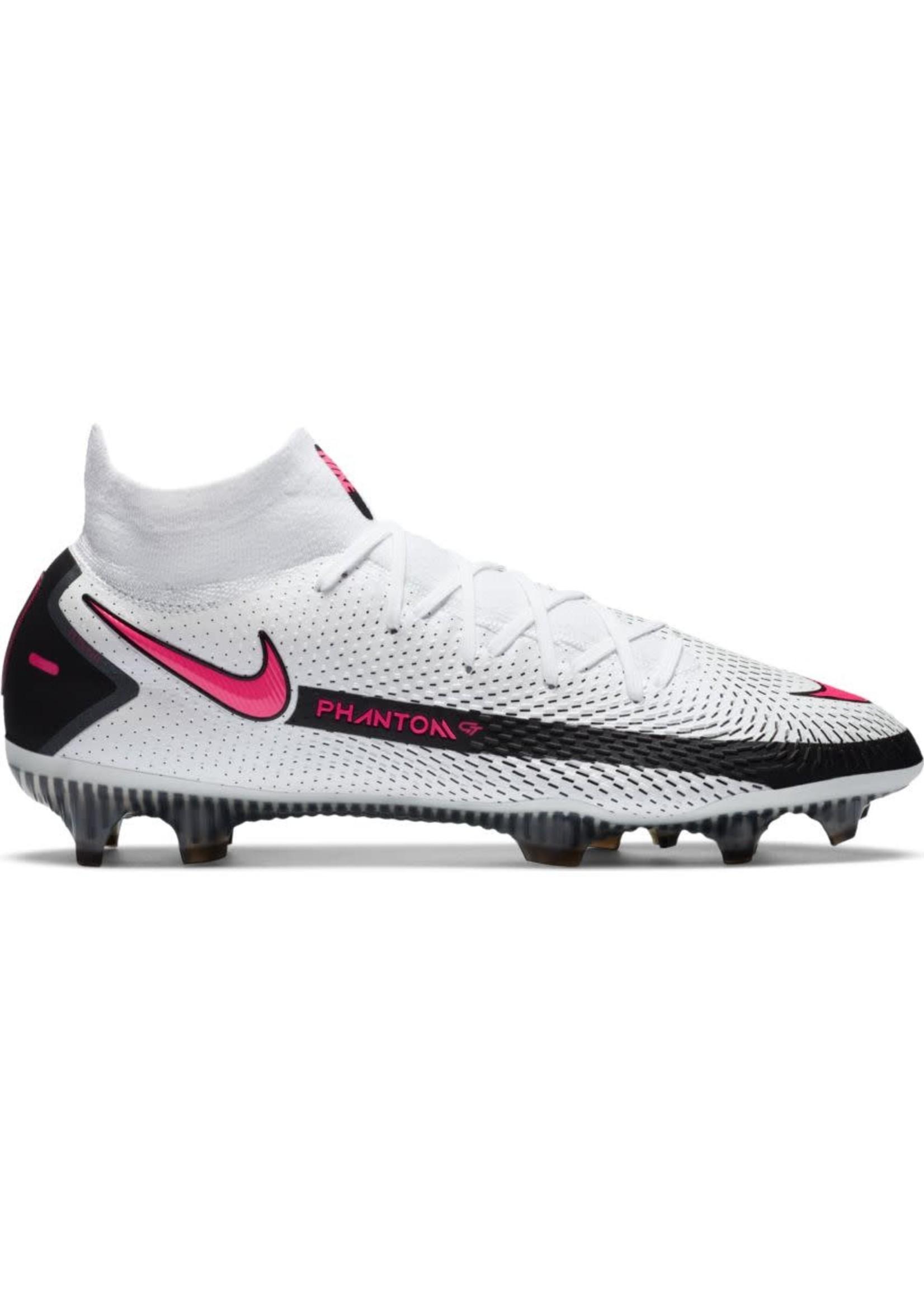 Nike Phantom GT Elite DF FG - White/Pink