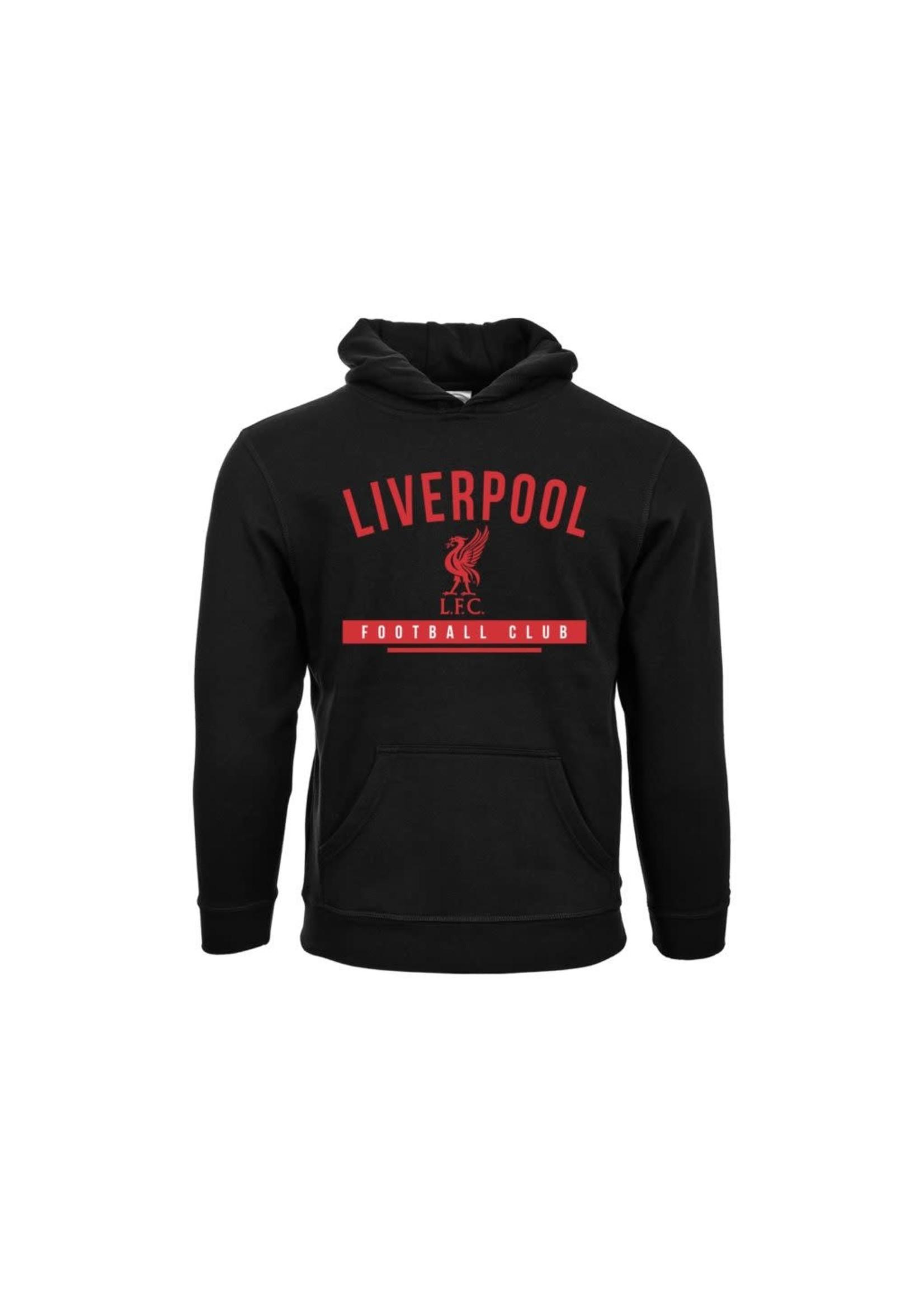 Liverpool Hoodie - Black/Red