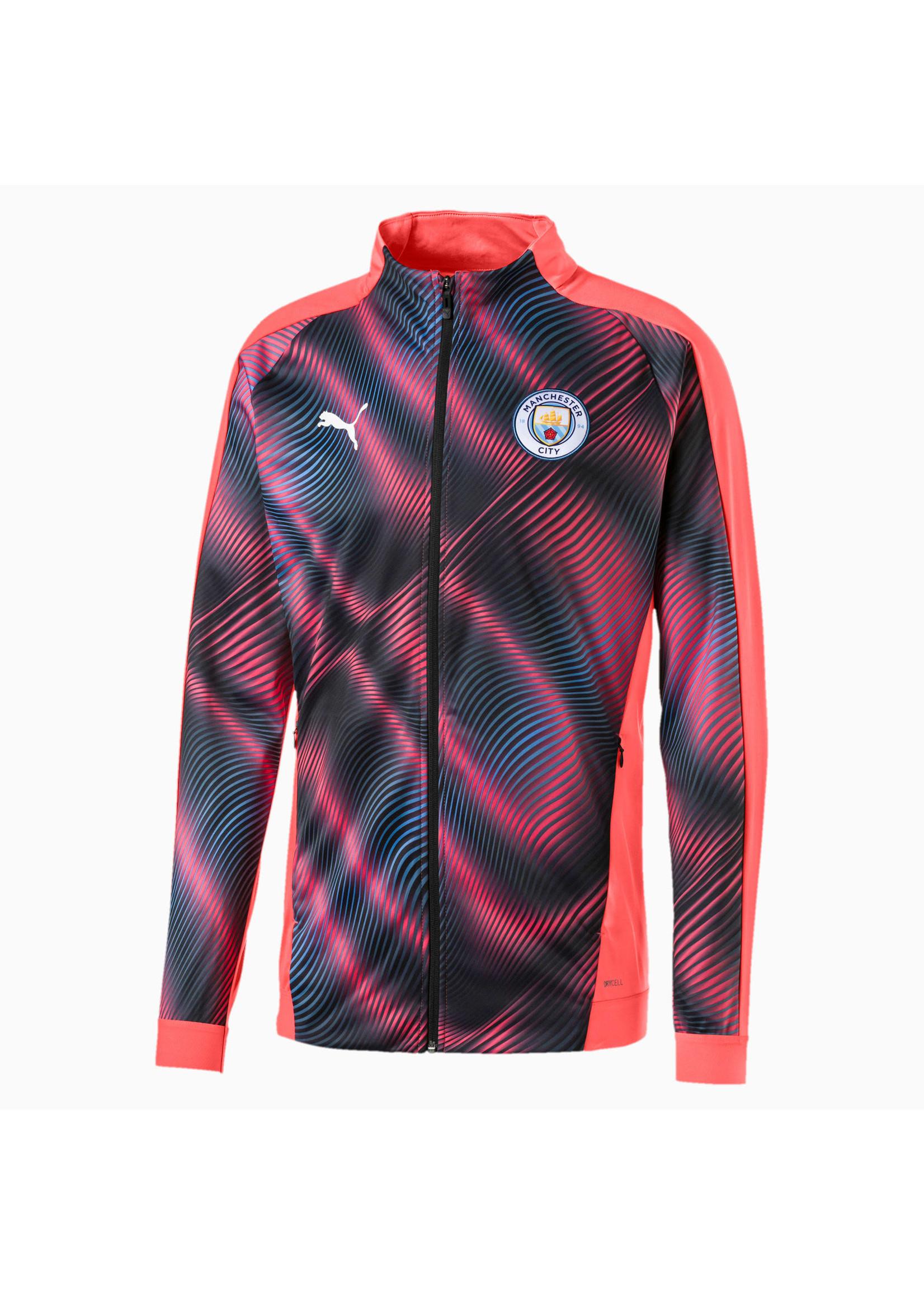 Puma Manchester City Stadium Track Jacket - Pink/Blue
