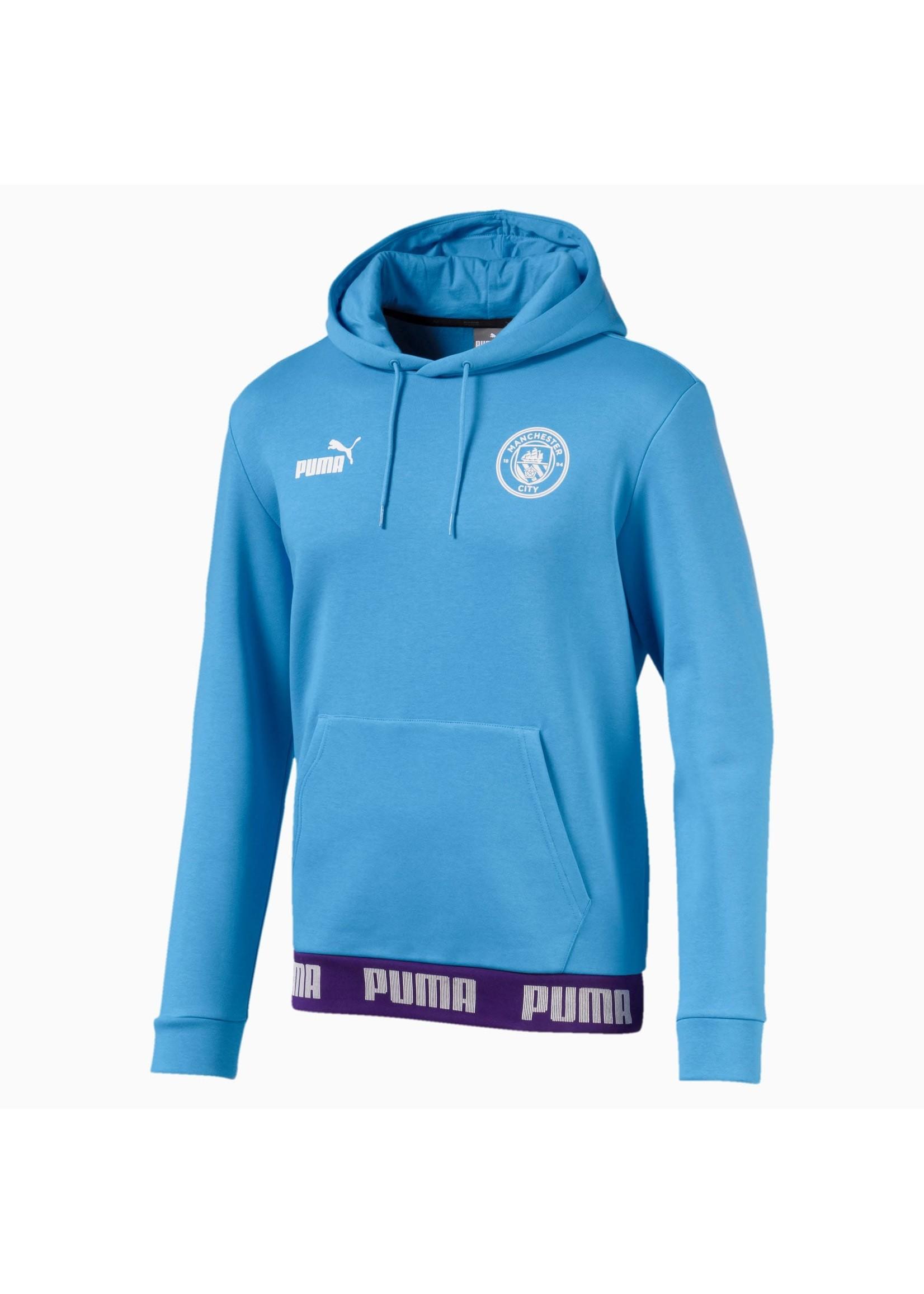 Puma Manchester City Hoodie - 19/20 Home