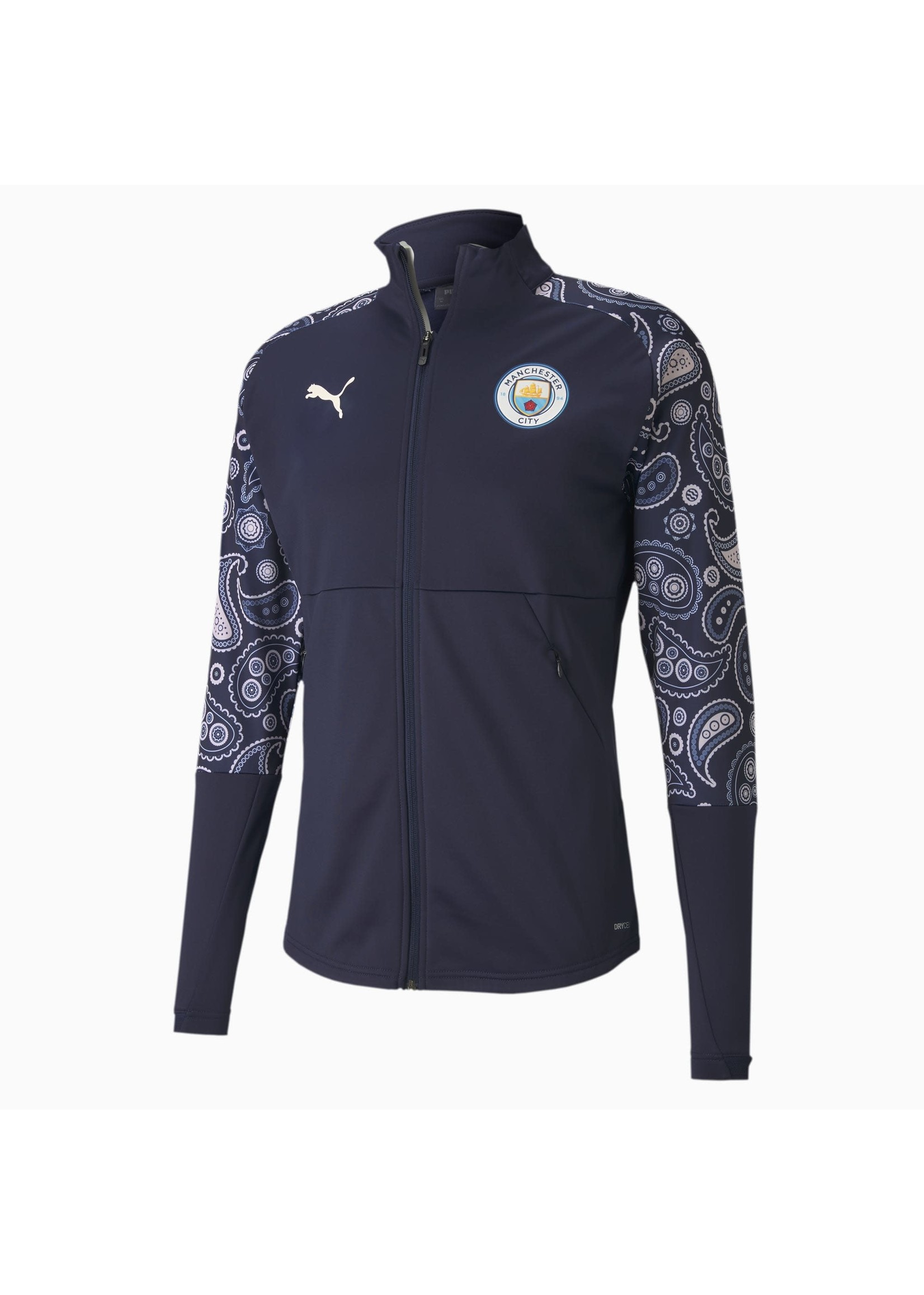 Puma Manchester City Stadium Track Jacket - 20/21 Third