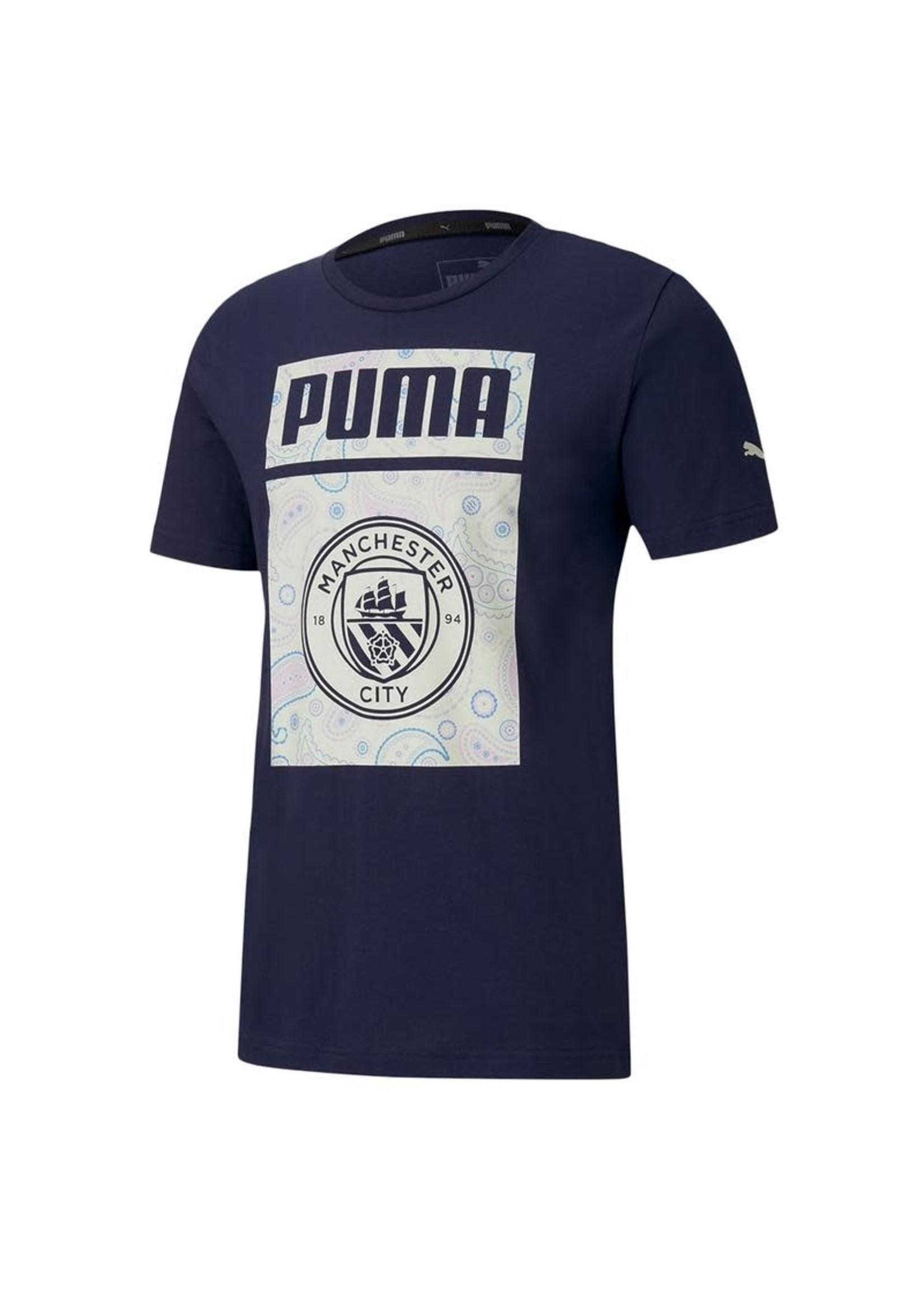 Puma Manchester City Graphic T-Shirt - 20/21 Third