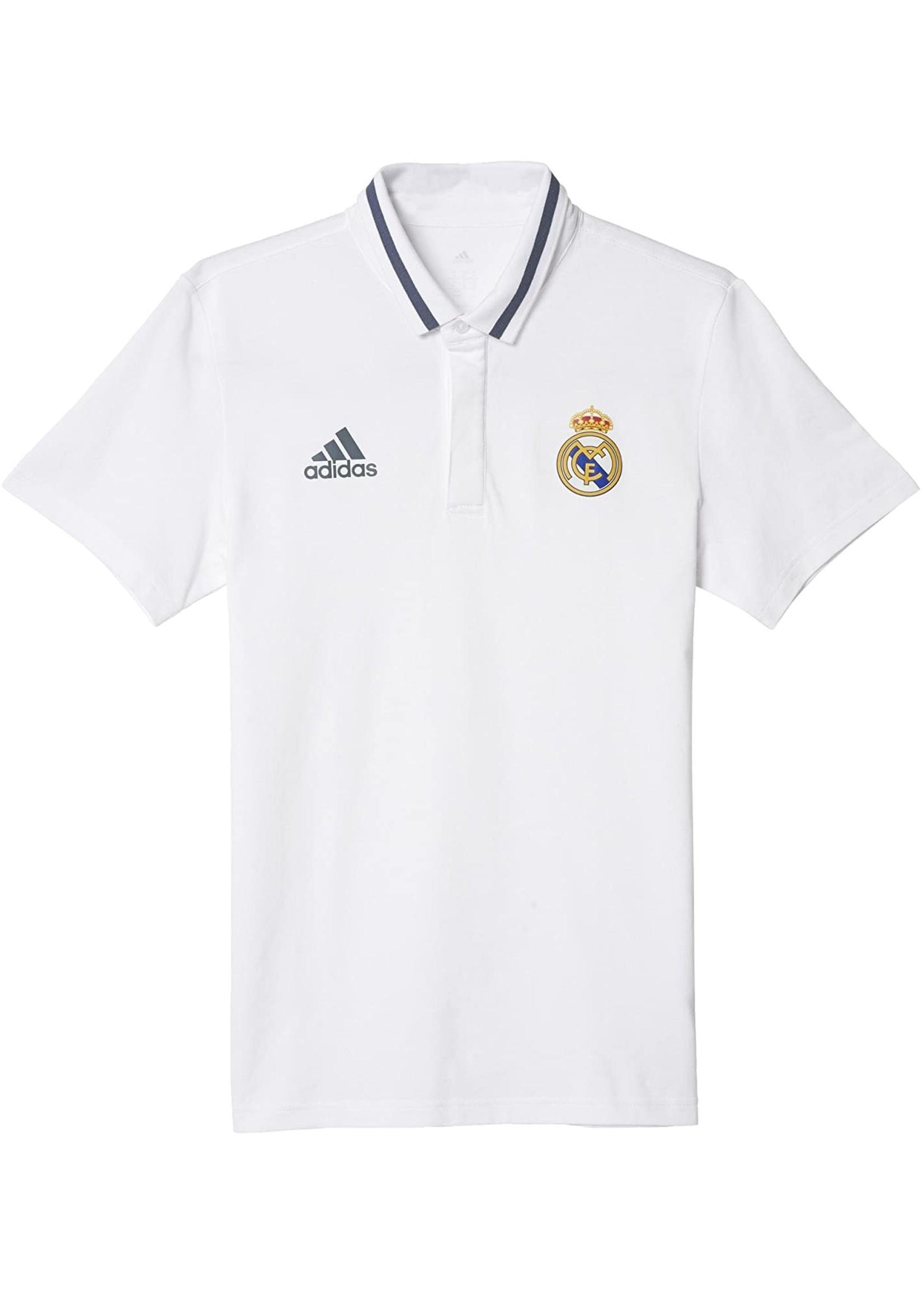 Adidas Real Madrid Polo Shirt - White