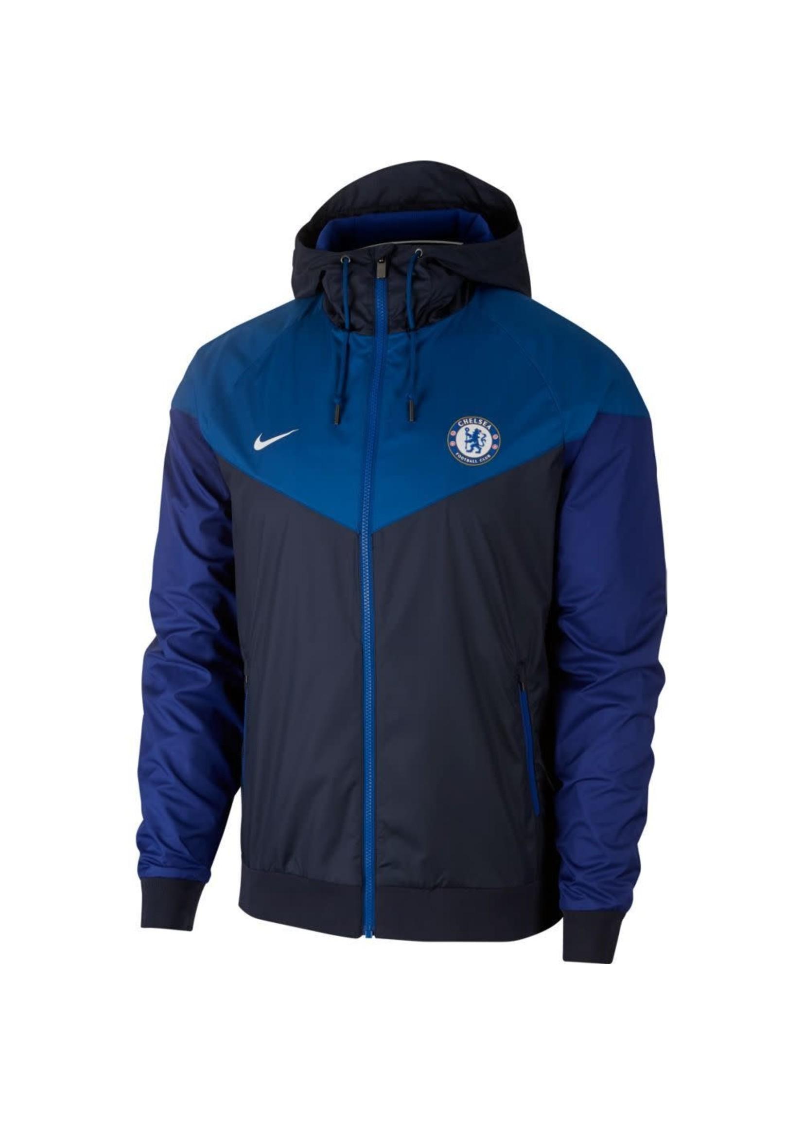 Nike Chelsea Windbreaker Full Zip - Blue/Black