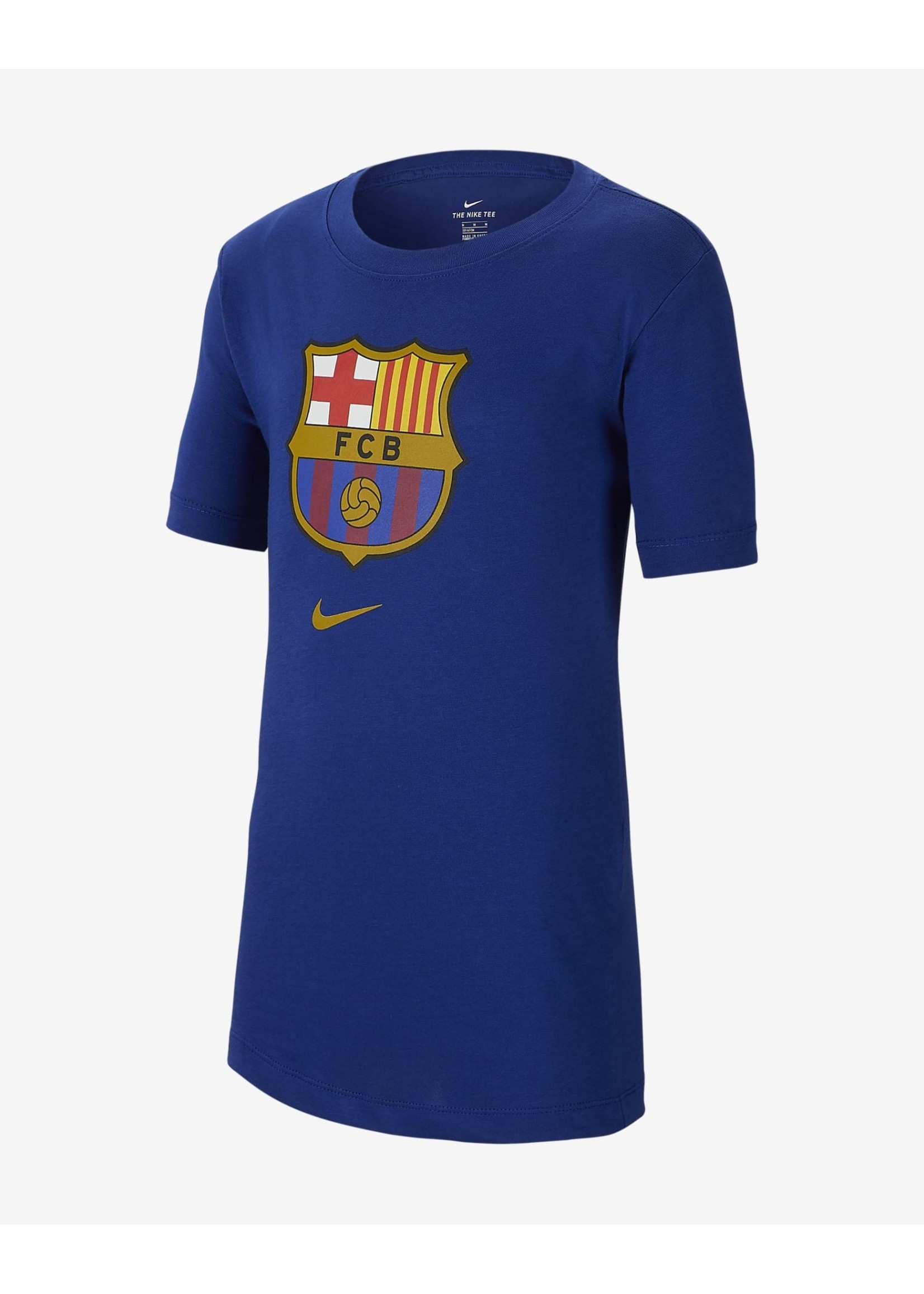 Nike Barcelona Logo T-Shirt - Blue