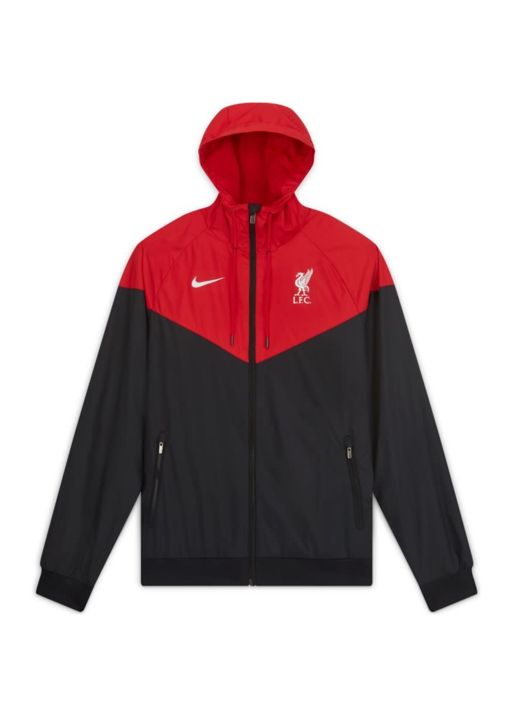 Nike Liverpool Windbreaker Full Zip - Red/Black