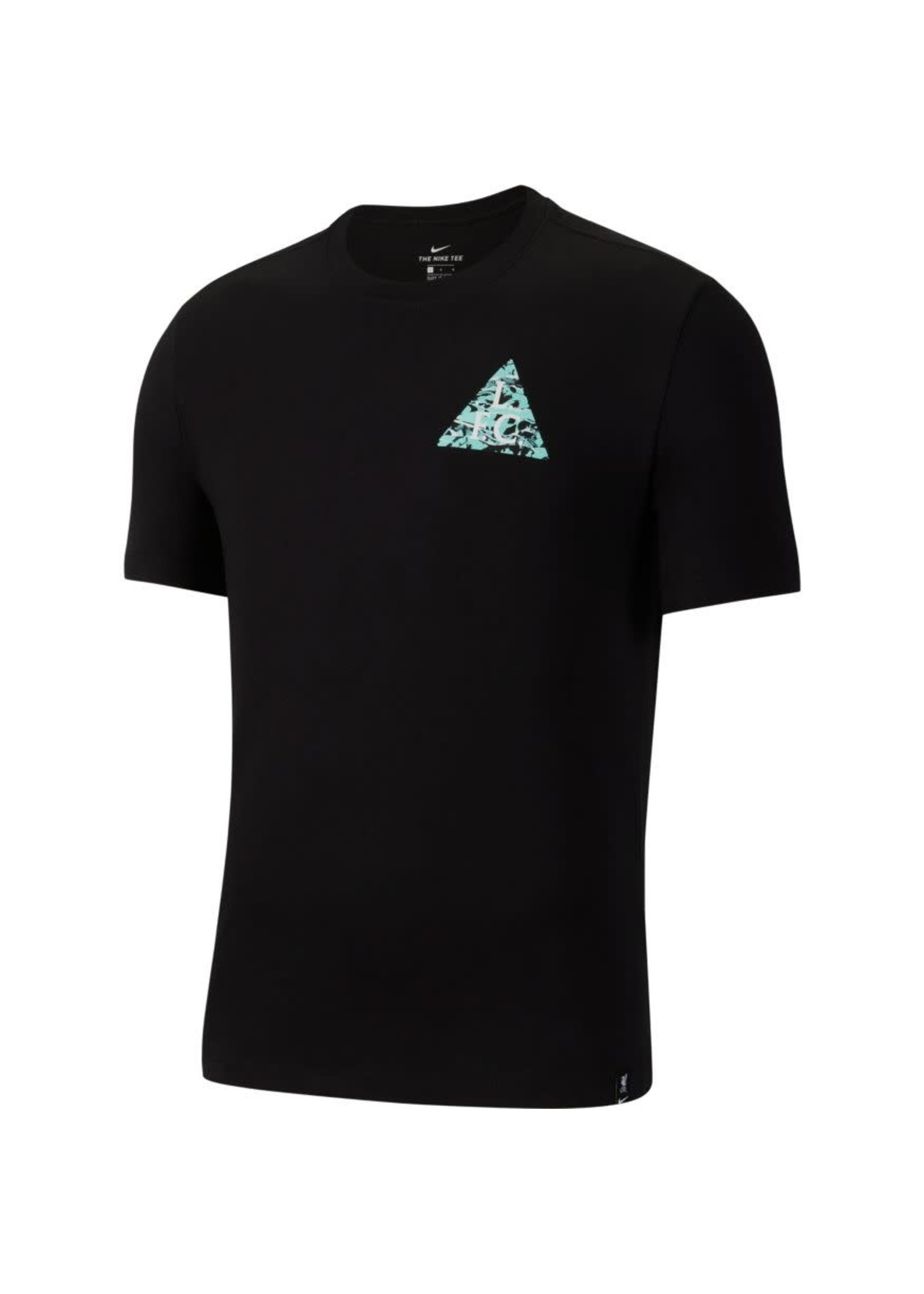 Nike Liverpool T-Shirt - Black/Blue