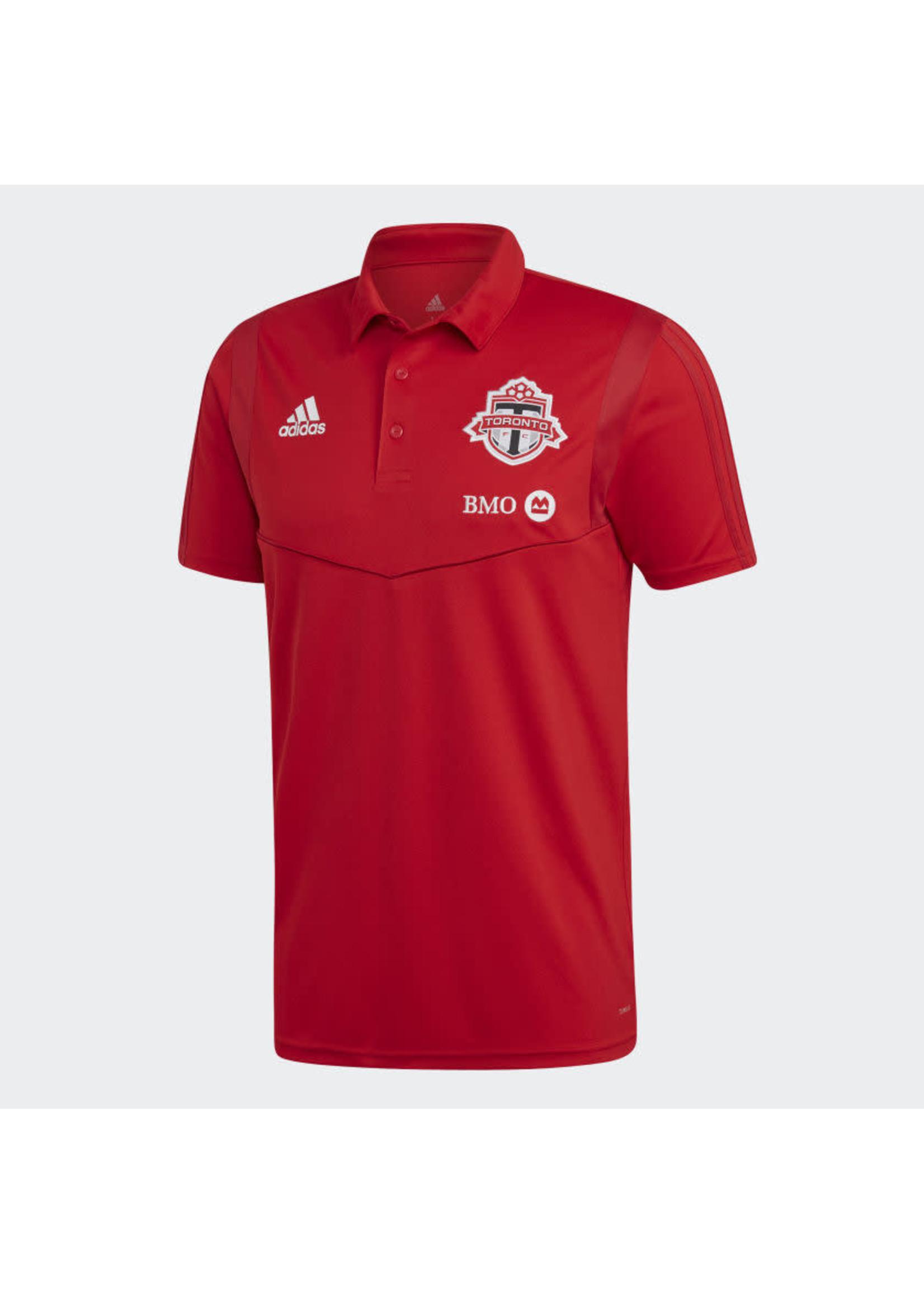 Adidas Toronto Polo Shirt - Red