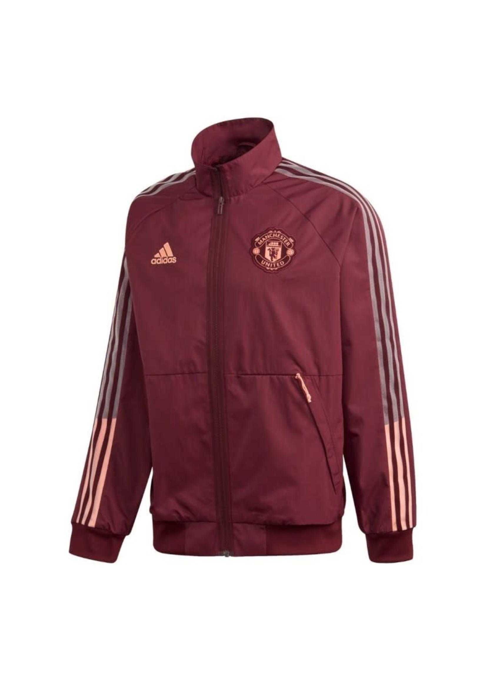 Adidas Manchester United Anthem Jacket Full Zip