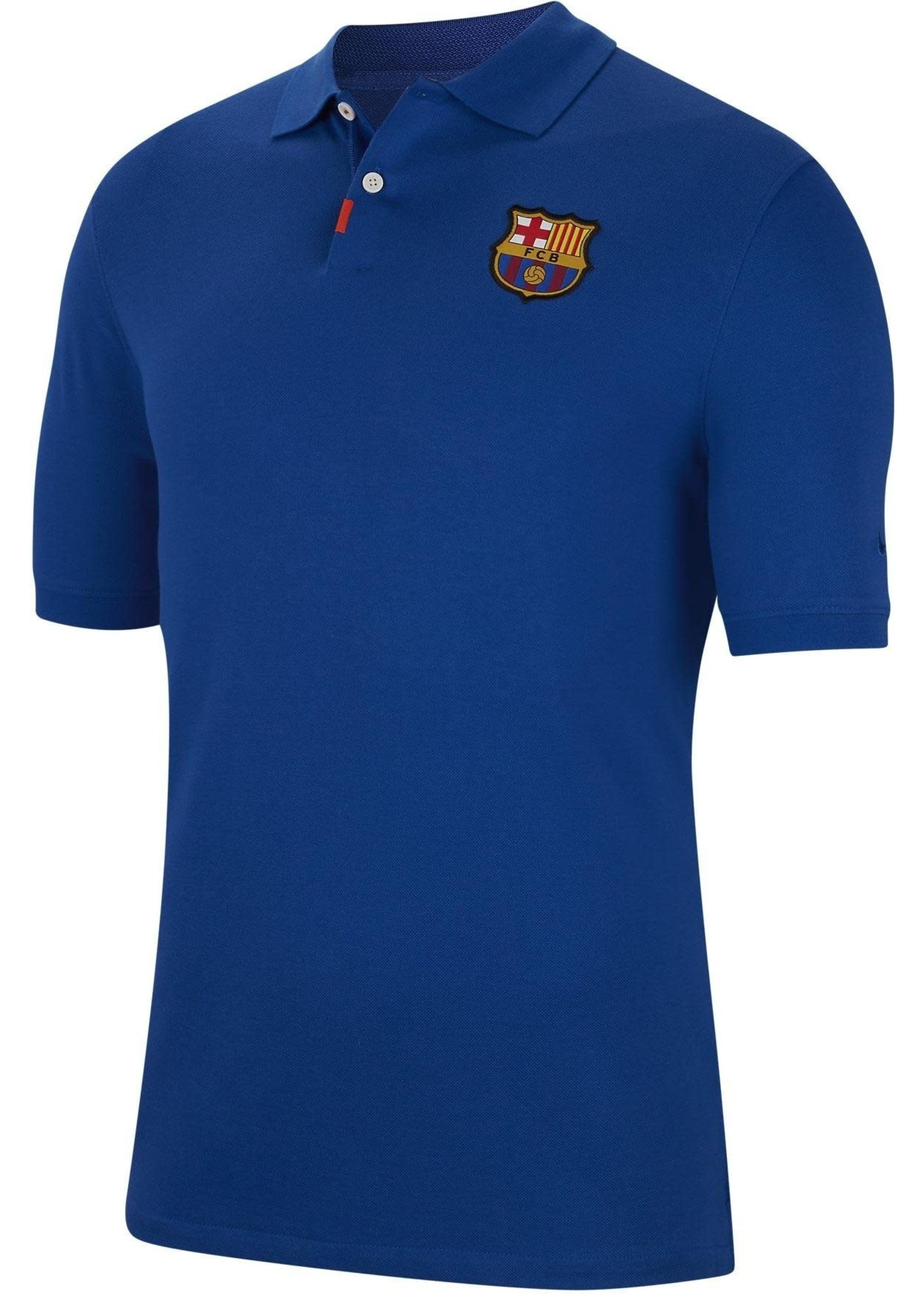 Nike Barcelona Polo Shirt - Blue