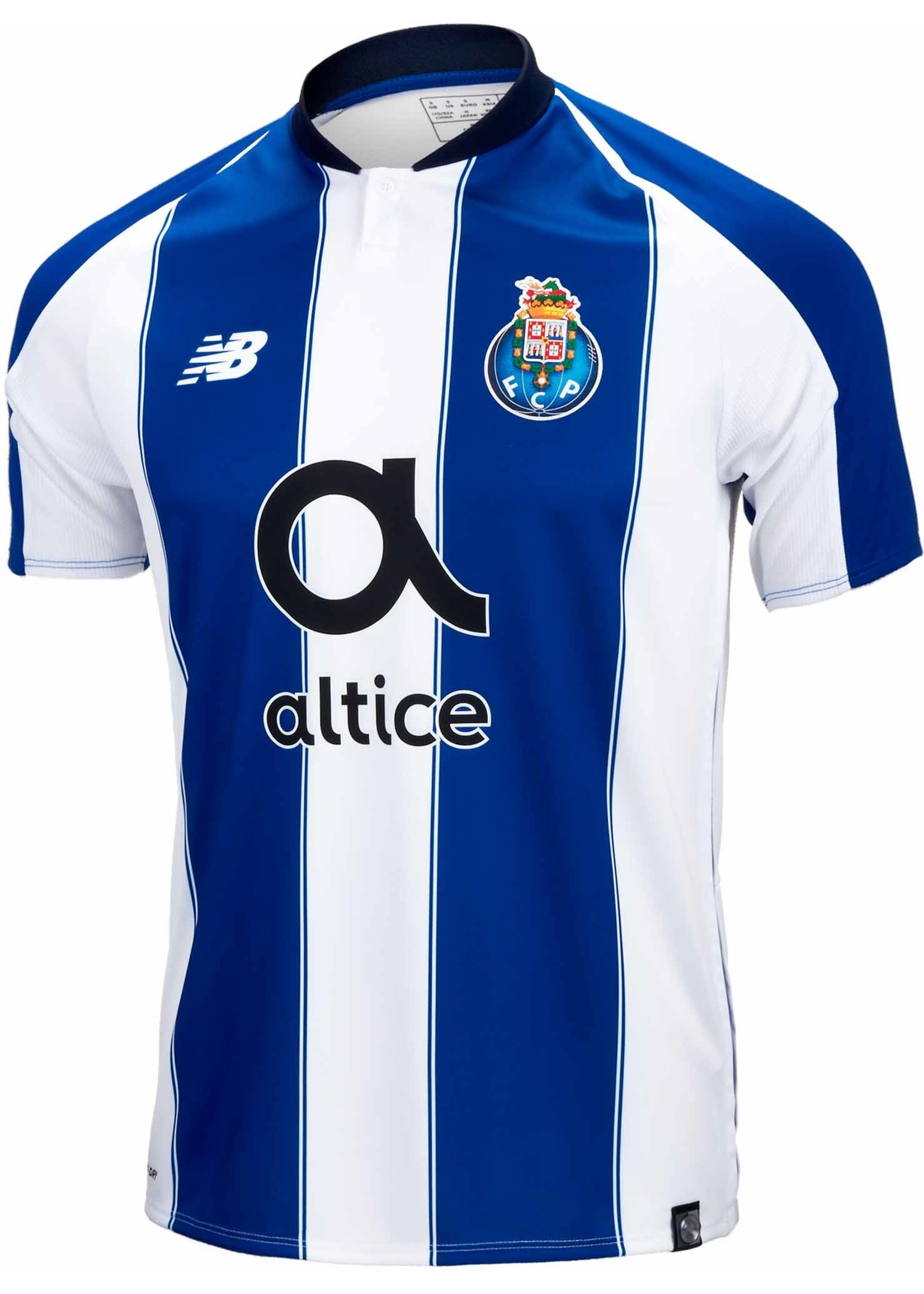 New Balance Porto 18/19 Home Jersey Adult Small