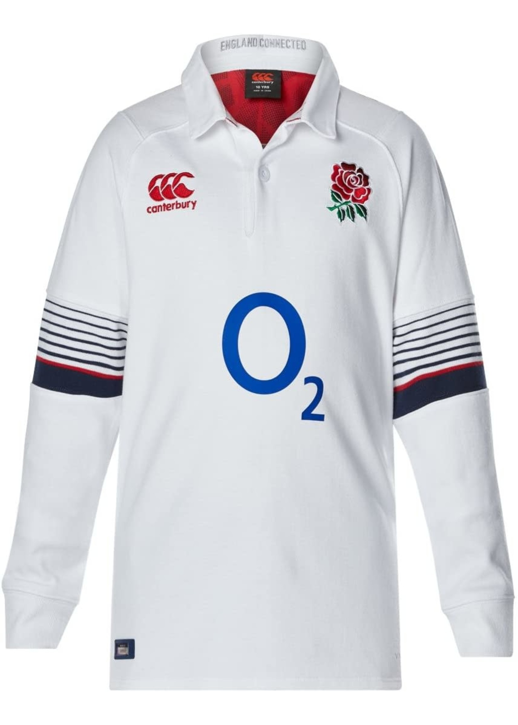 Canterbury England Rugby Home Jersey - LS Youth