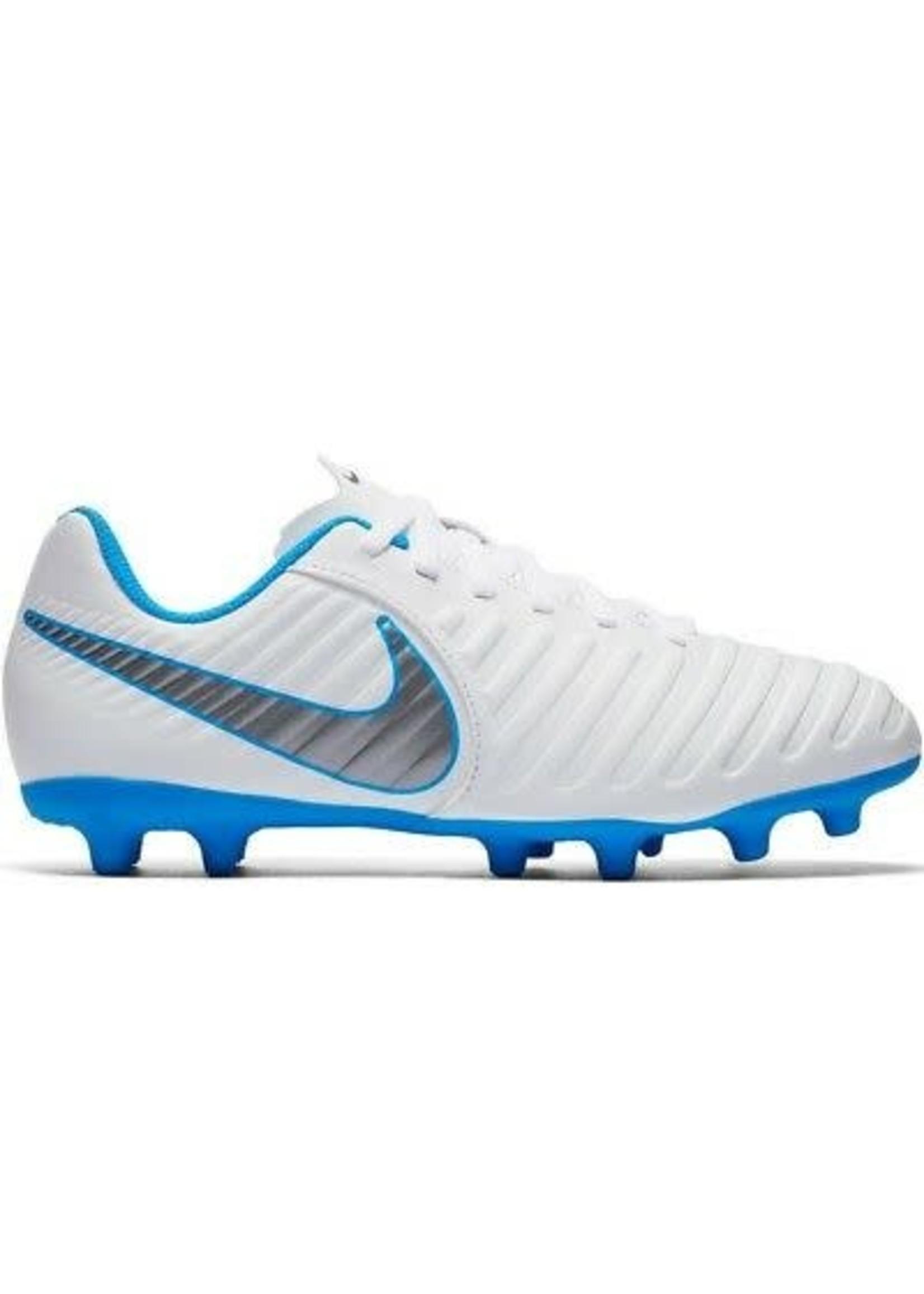 Nike Jr Legend 7 Club FG - White/Blue