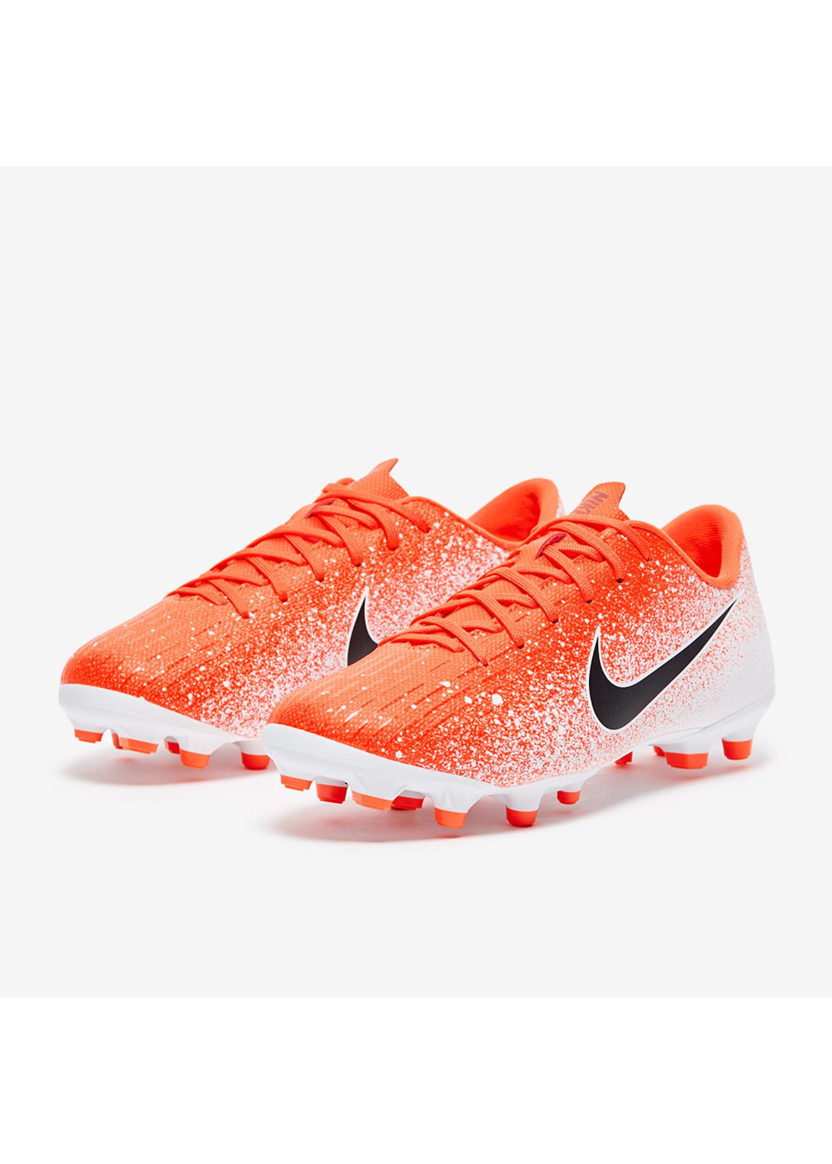 Nike Jr Vapor 12 Academy PS FG/MG - Orange/White