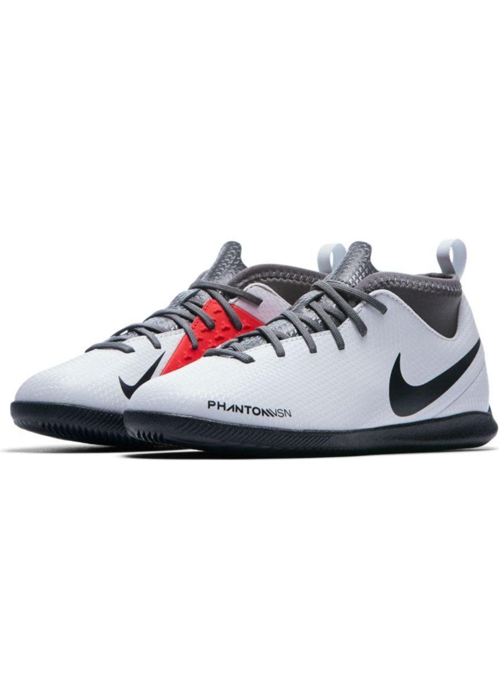 Nike Jr Phantom VSN Club DF IC - Grey/Red