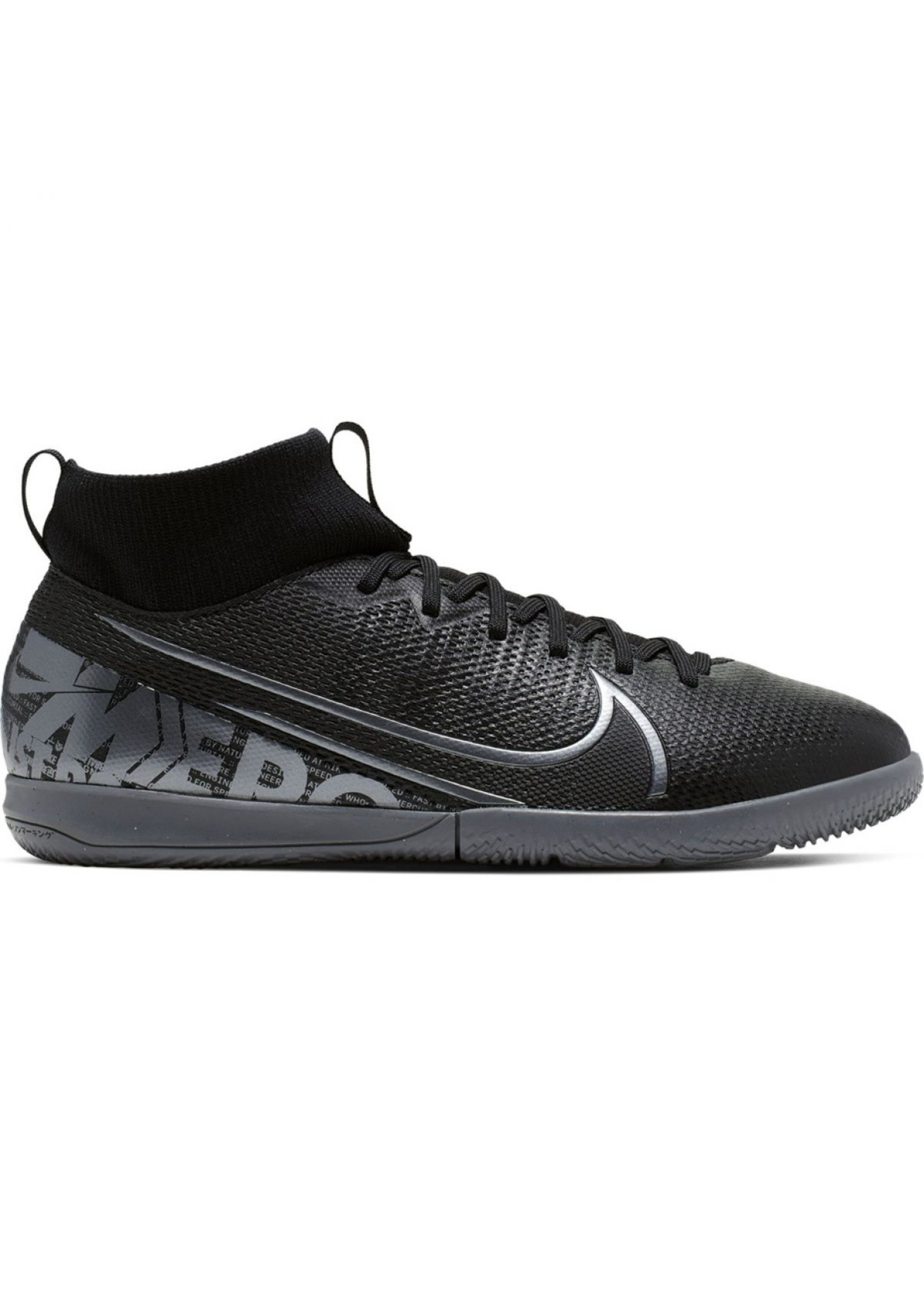 Nike Jr Superfly 7 Academy IC - Black/Grey