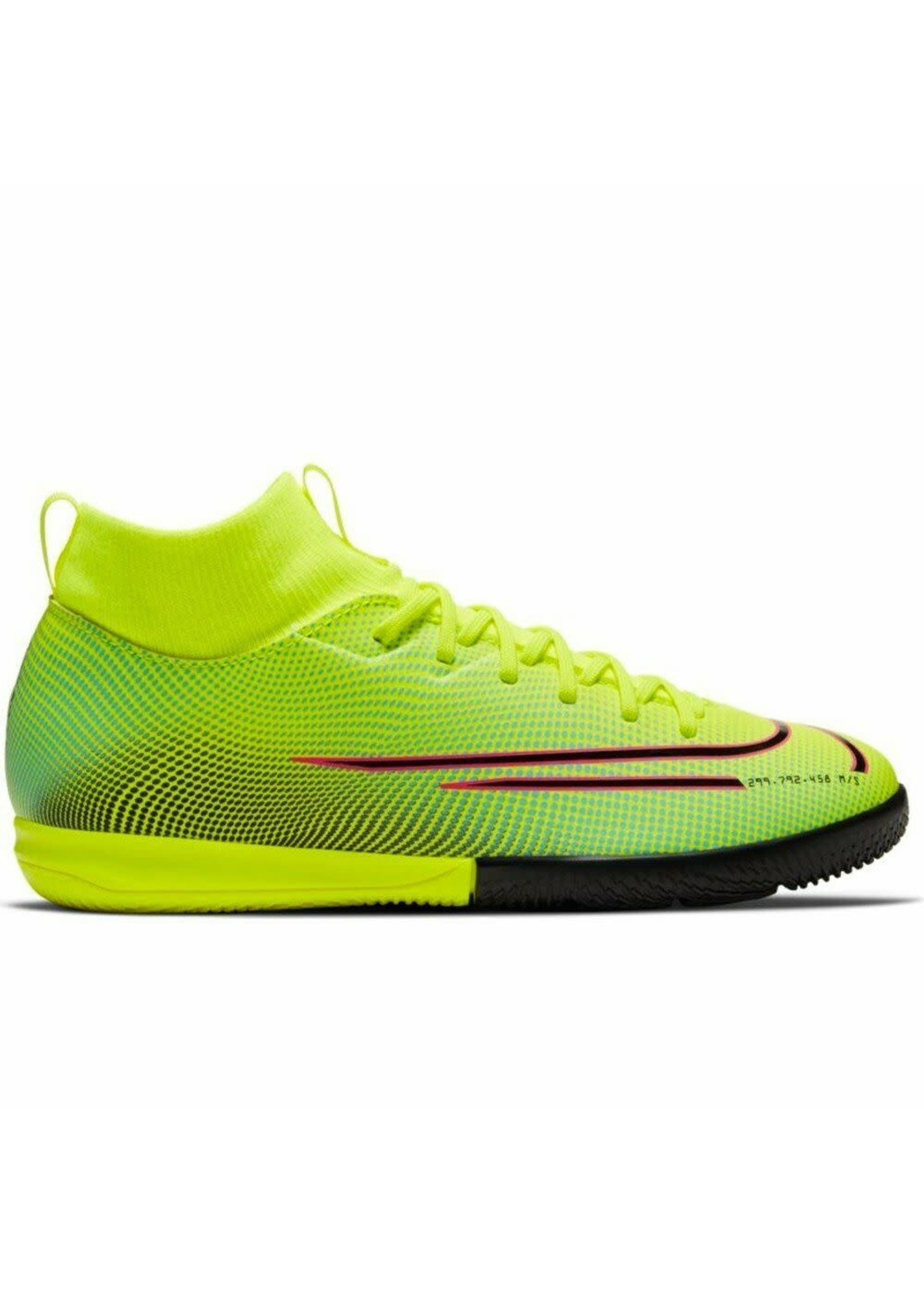 Nike Jr Superfly 7 Academy MDS IC - Lime/Red