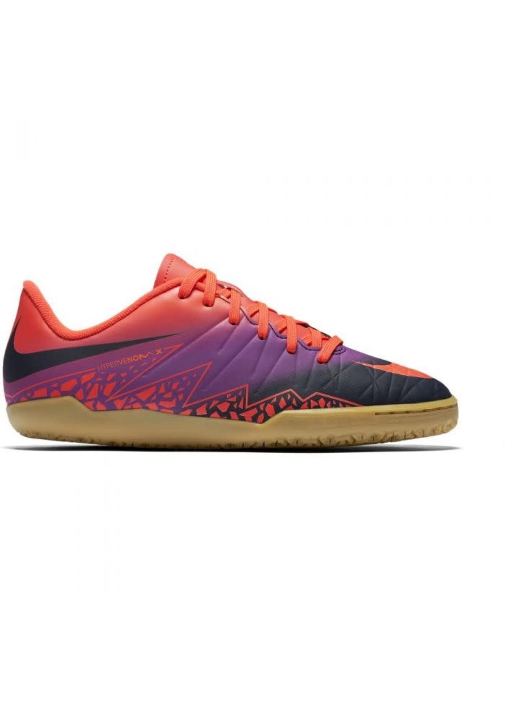 Nike Jr Hypervenomx Phelon II IC - Purple/Orange