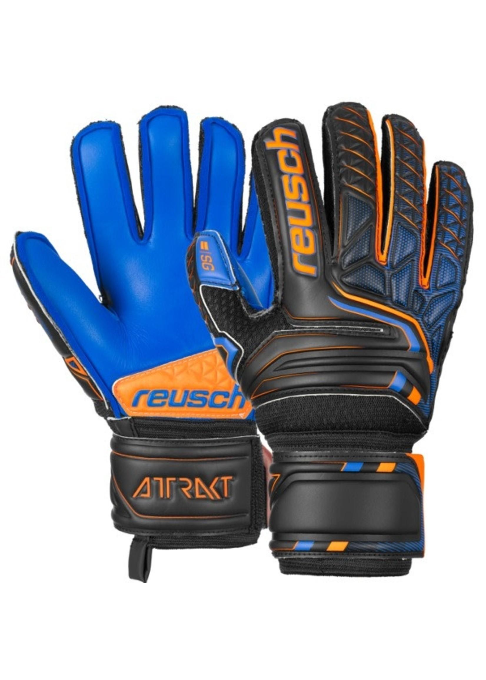Reusch Attrakt SG Extra Finger Support Junior