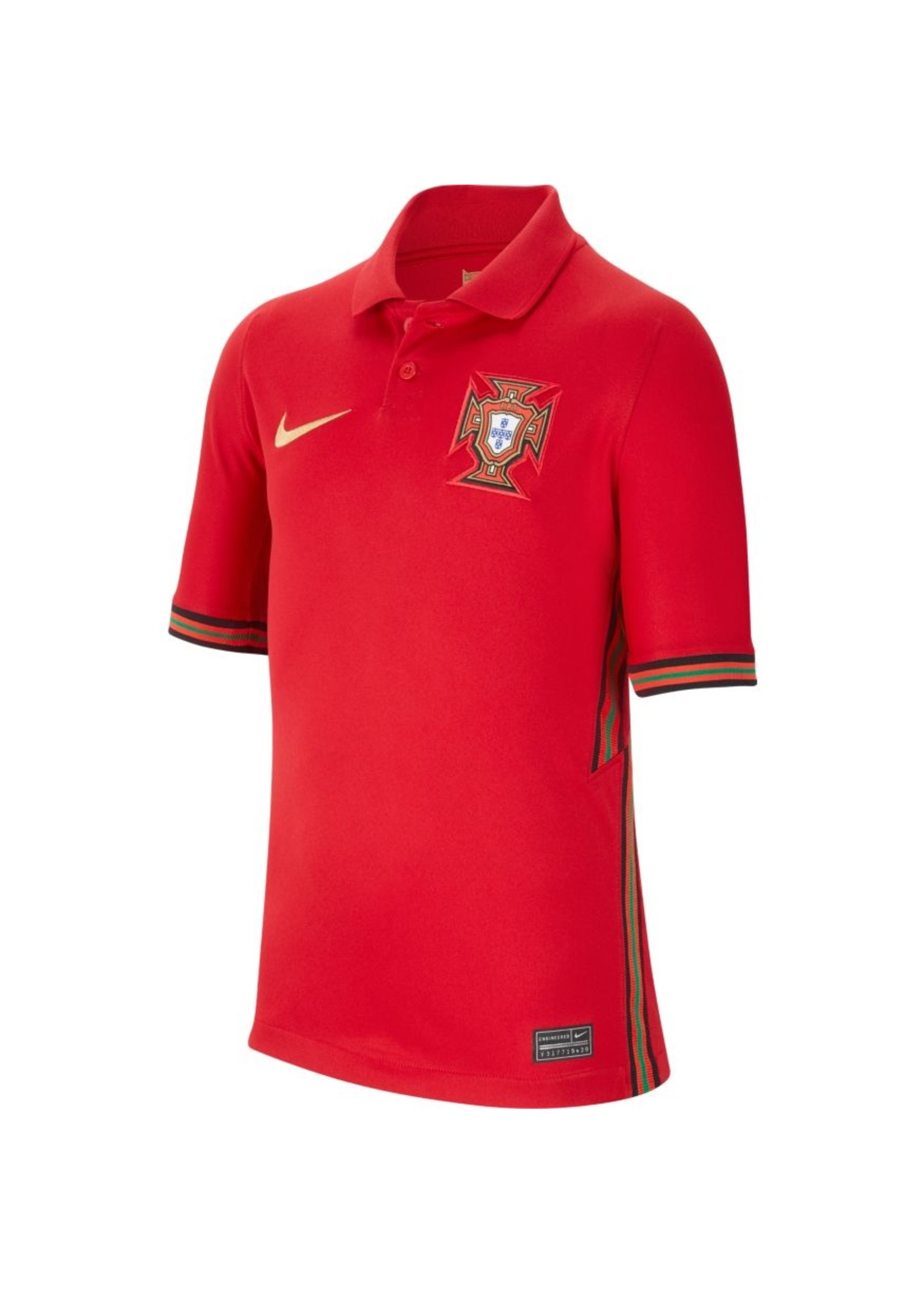 Nike Portugal 20/21 Home Jersey Youth