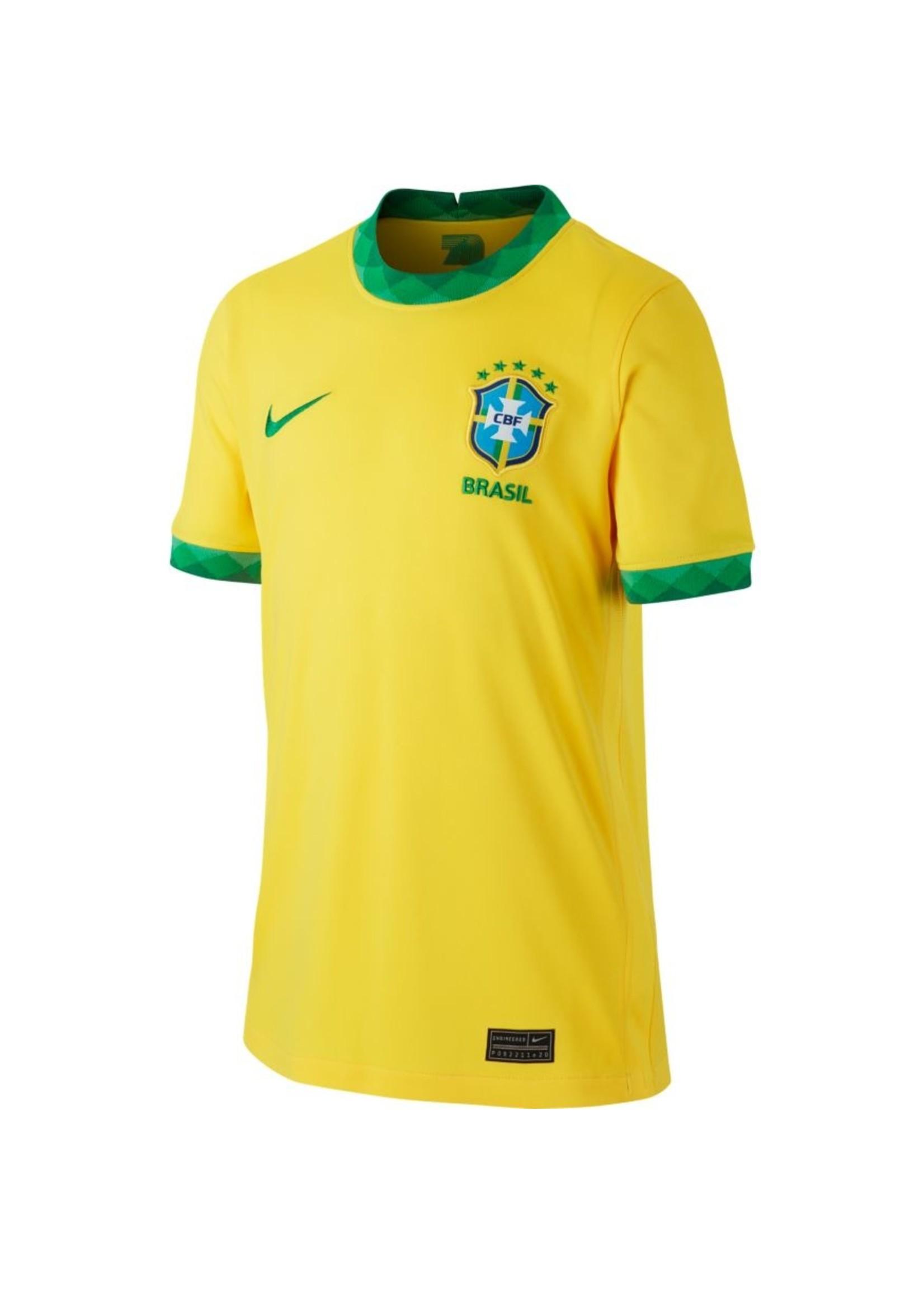 Nike Brazil 20/21 Home Jersey Youth