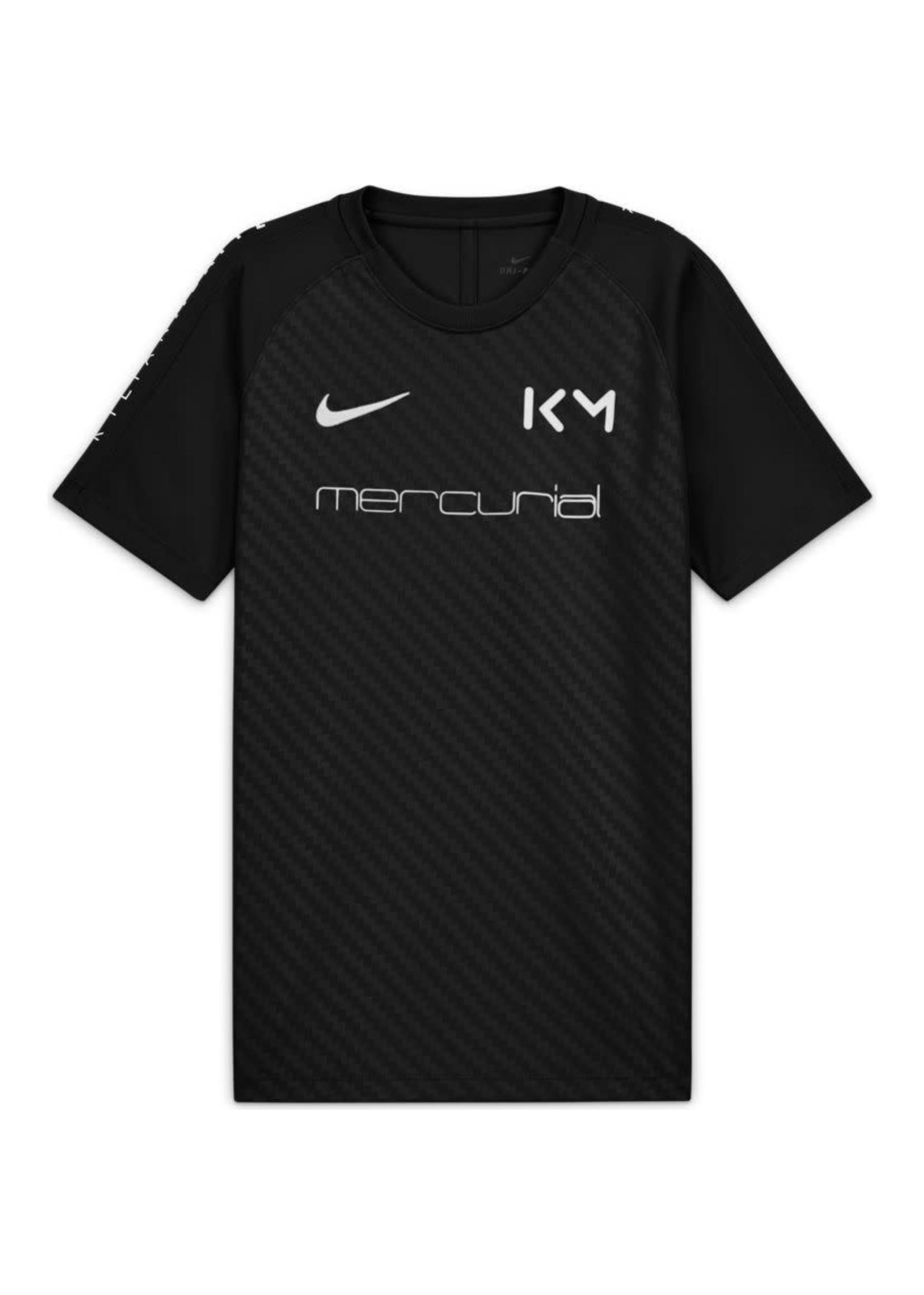 Nike Kylian Mbappe Mercurial Black Training Jersey Youth