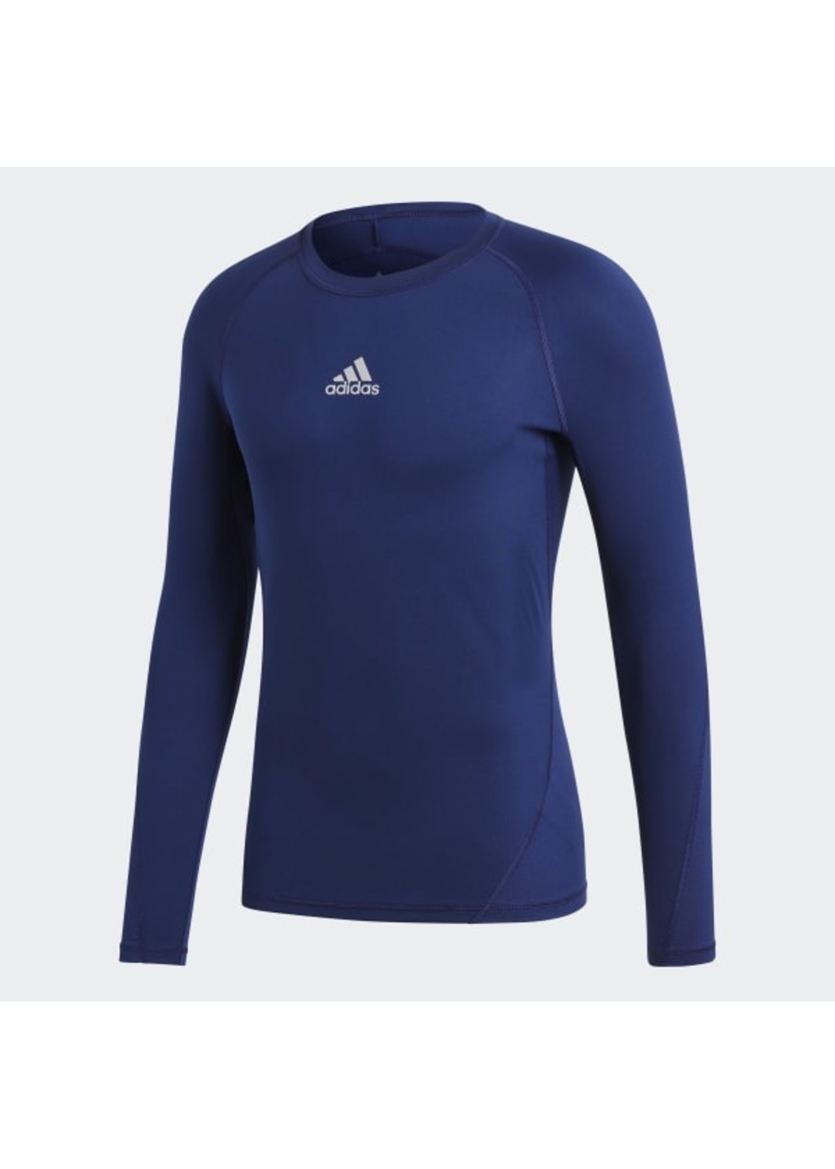 Adidas Compression Navy Long Sleeve Adult