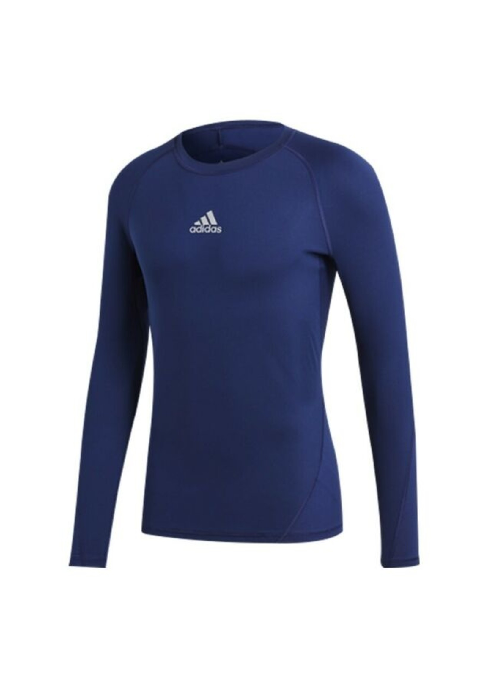 Adidas Compression Navy Long Sleeve Youth