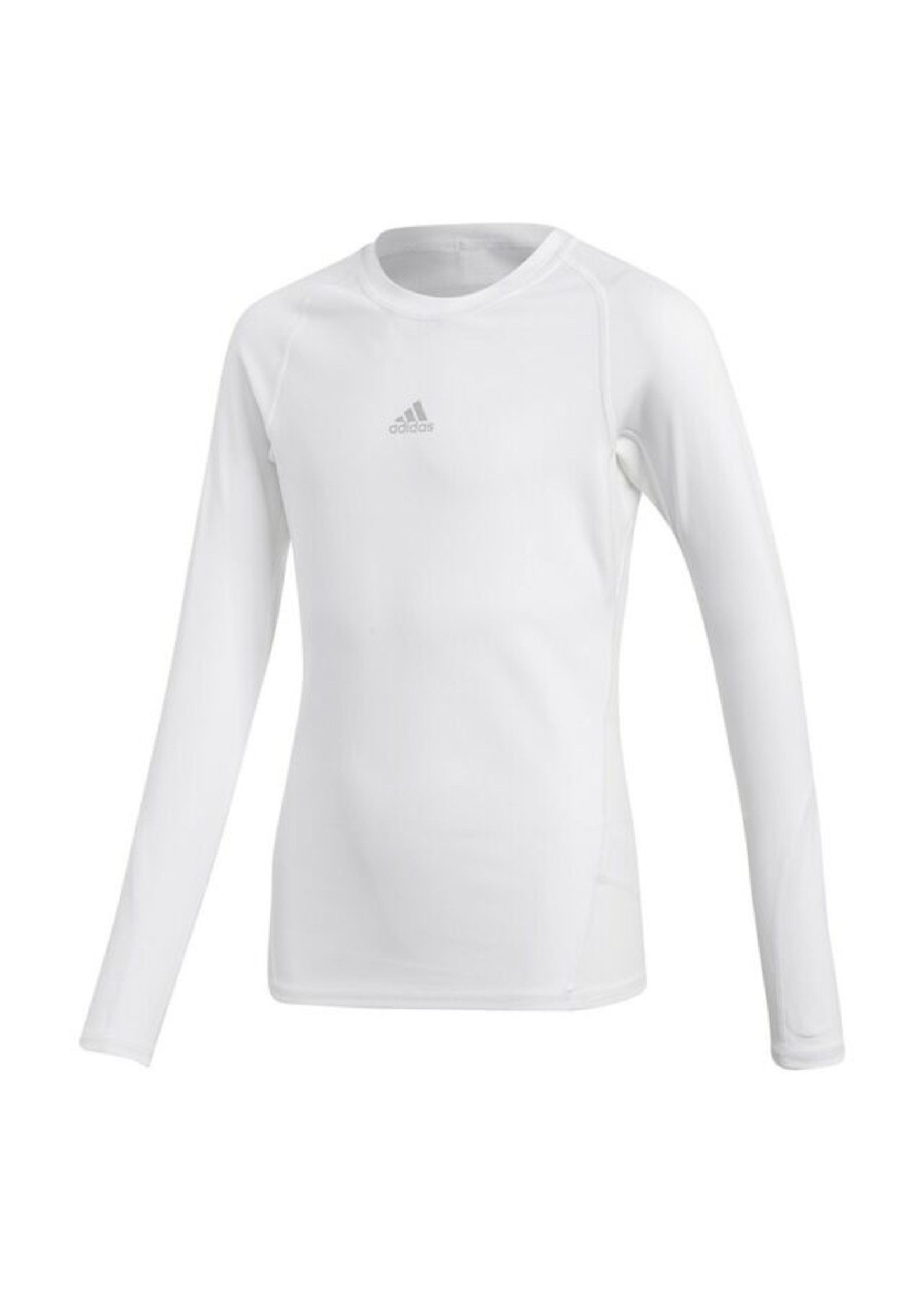 Adidas Compression White Long Sleeve Youth