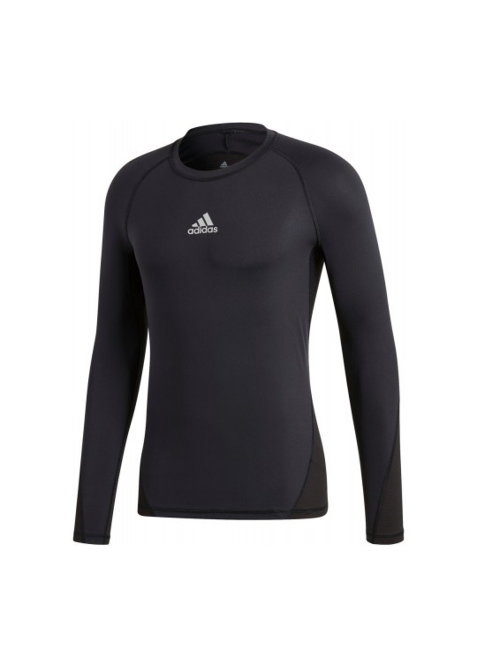 Adidas Compression Black Long Sleeve Youth
