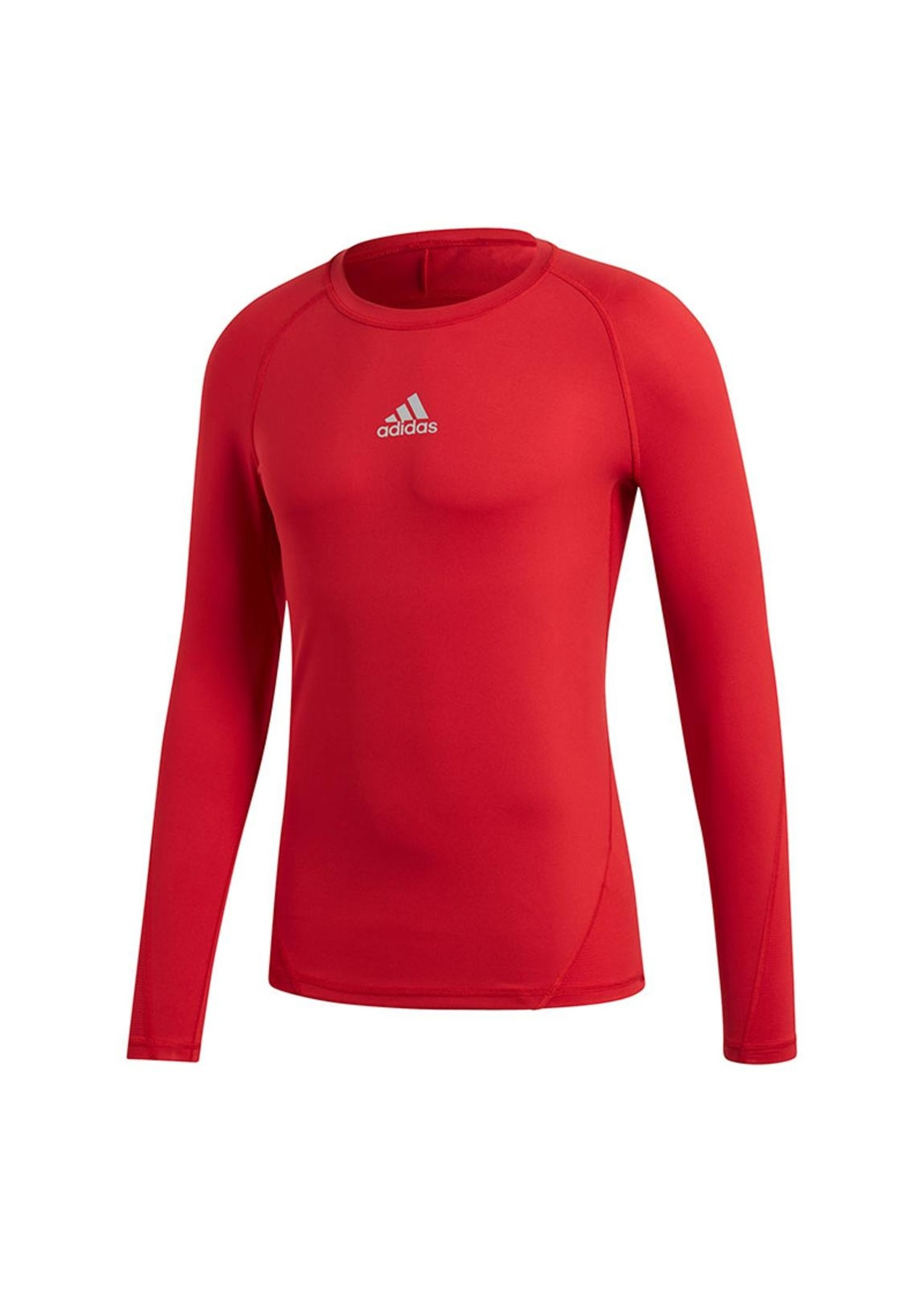 Adidas Compression Red Long Sleeve Youth