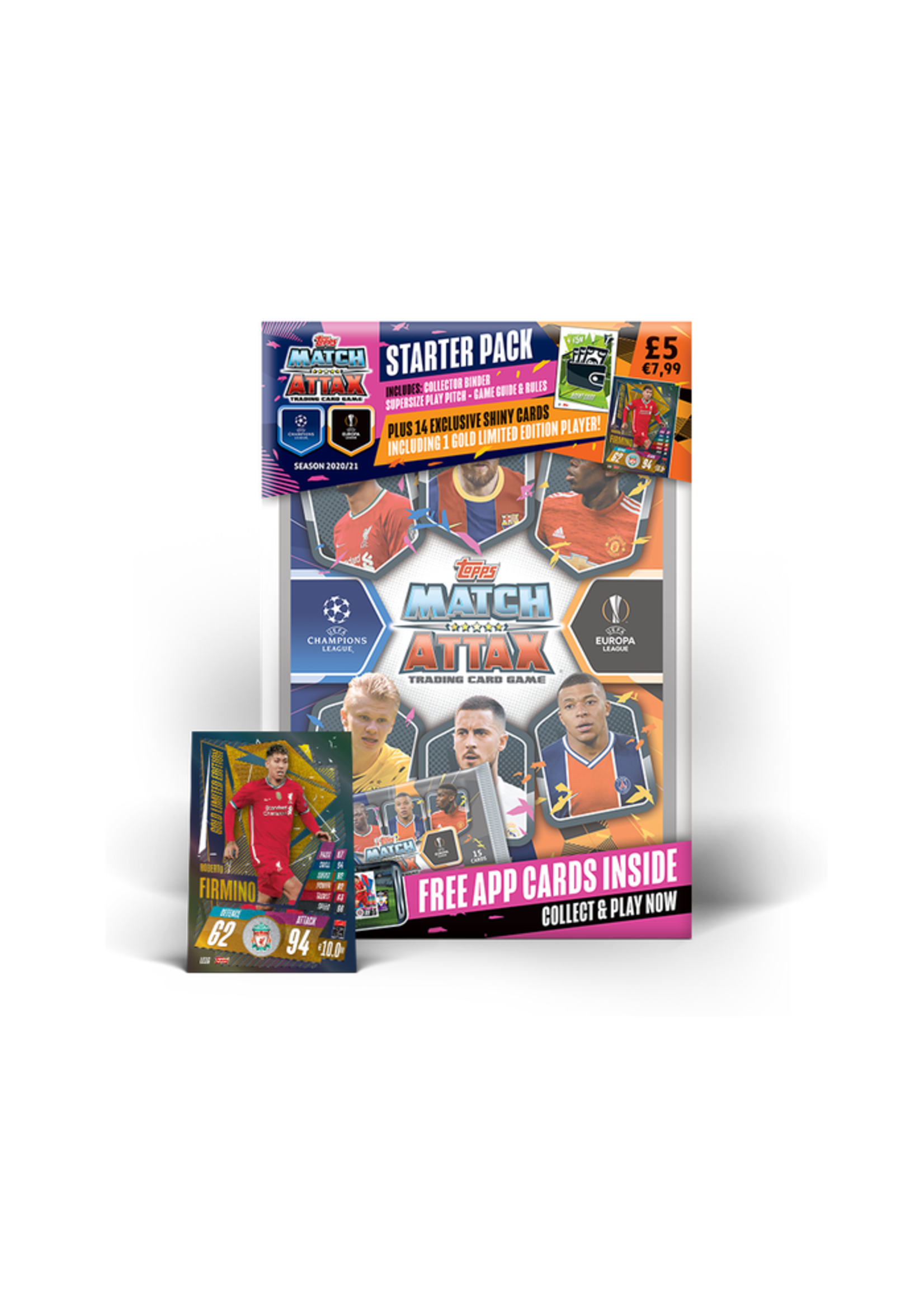 Topps Champions League Official Collector Cards - Starter Packs