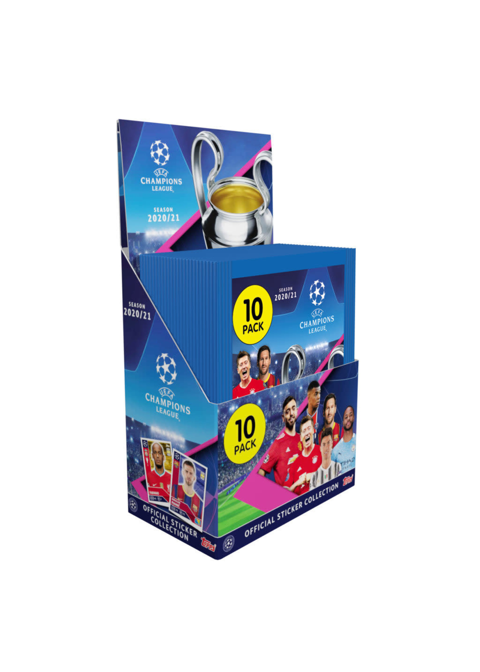 Topps Champions League Official Collector Stickers - Individual Packs